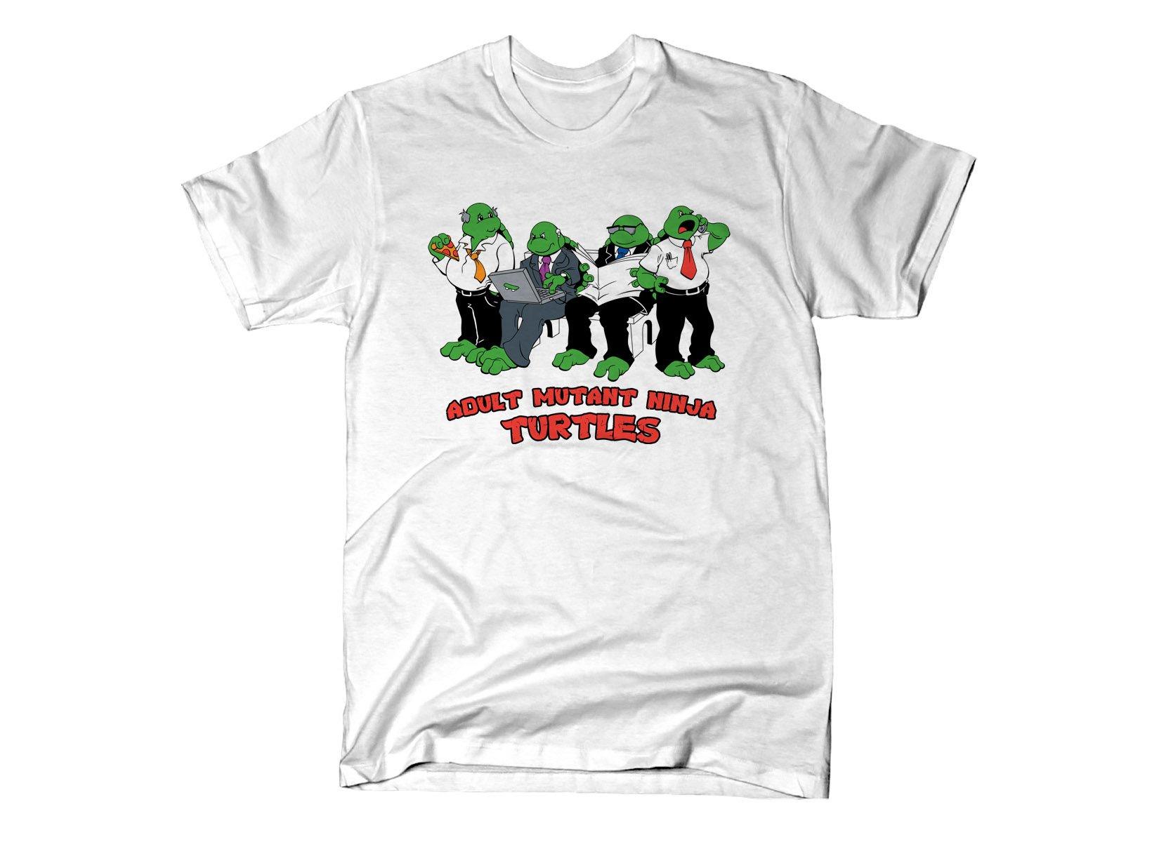 Adult Mutant Ninja Turtles on Mens T-Shirt