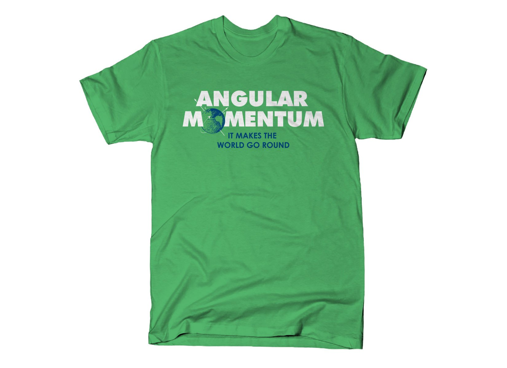 Angular Momentum on Mens T-Shirt