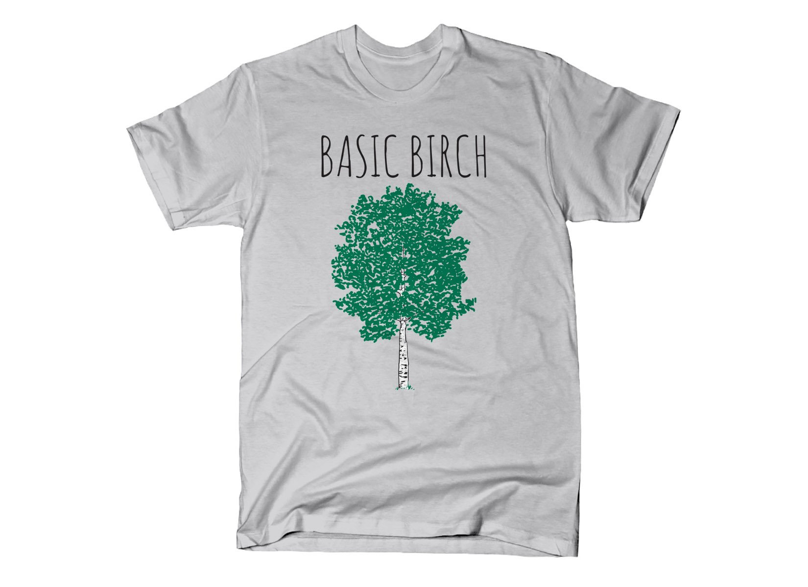 Basic Birch on Mens T-Shirt