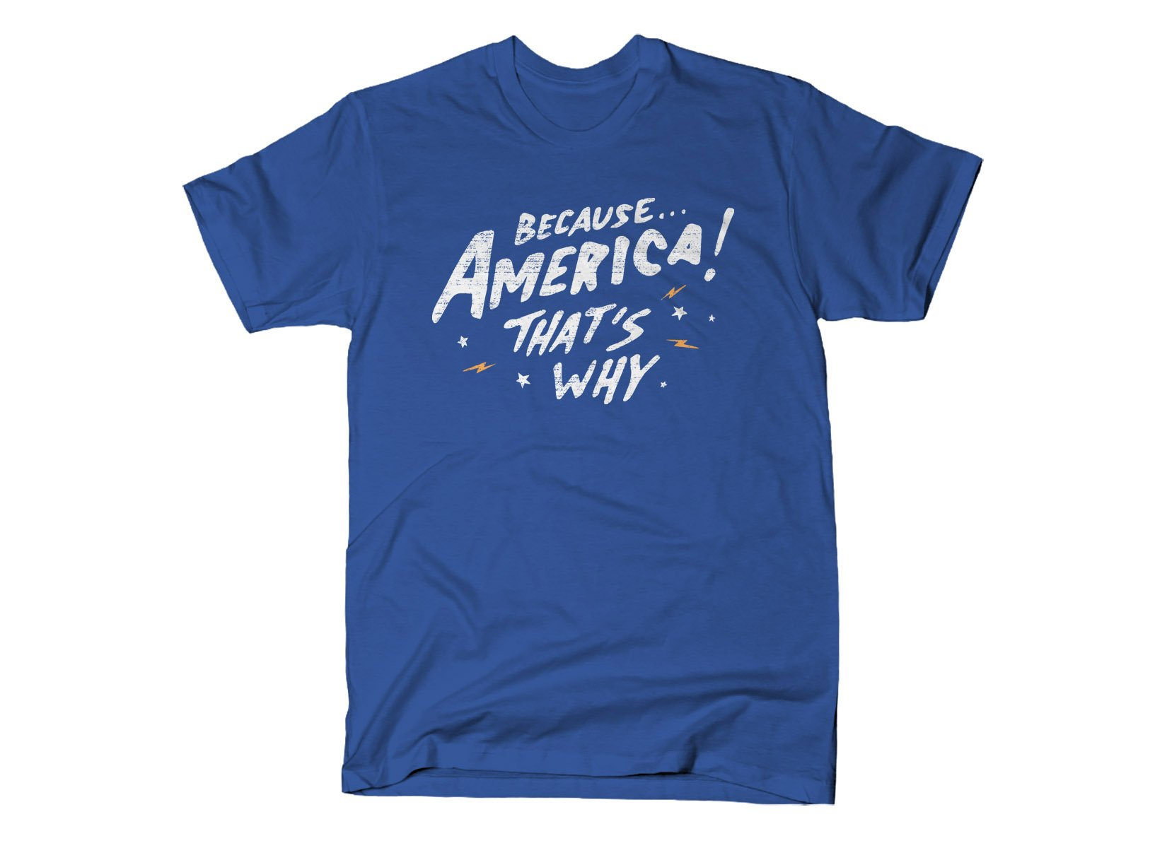 Because America! That's Why on Mens T-Shirt
