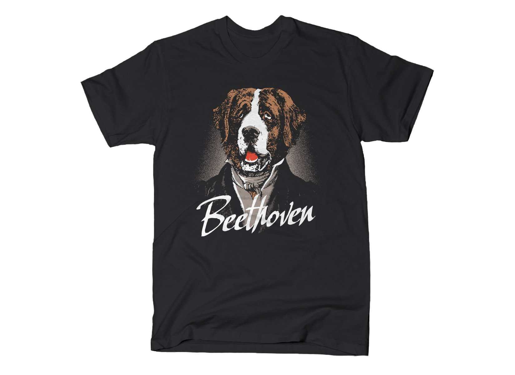 Beethoven on Mens T-Shirt