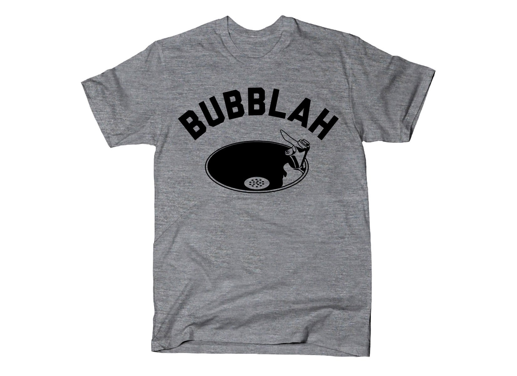 Bubblah on Mens T-Shirt