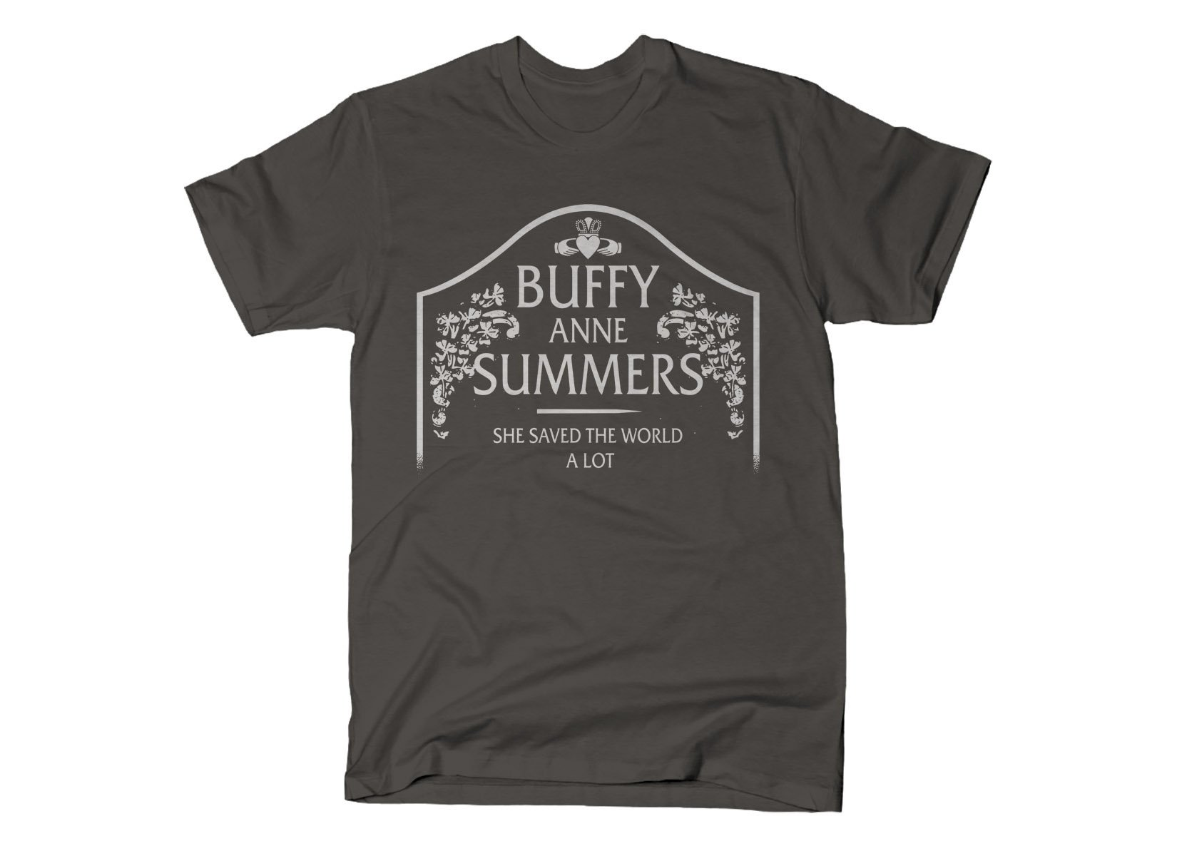 Buffy Anne Summers on Mens T-Shirt