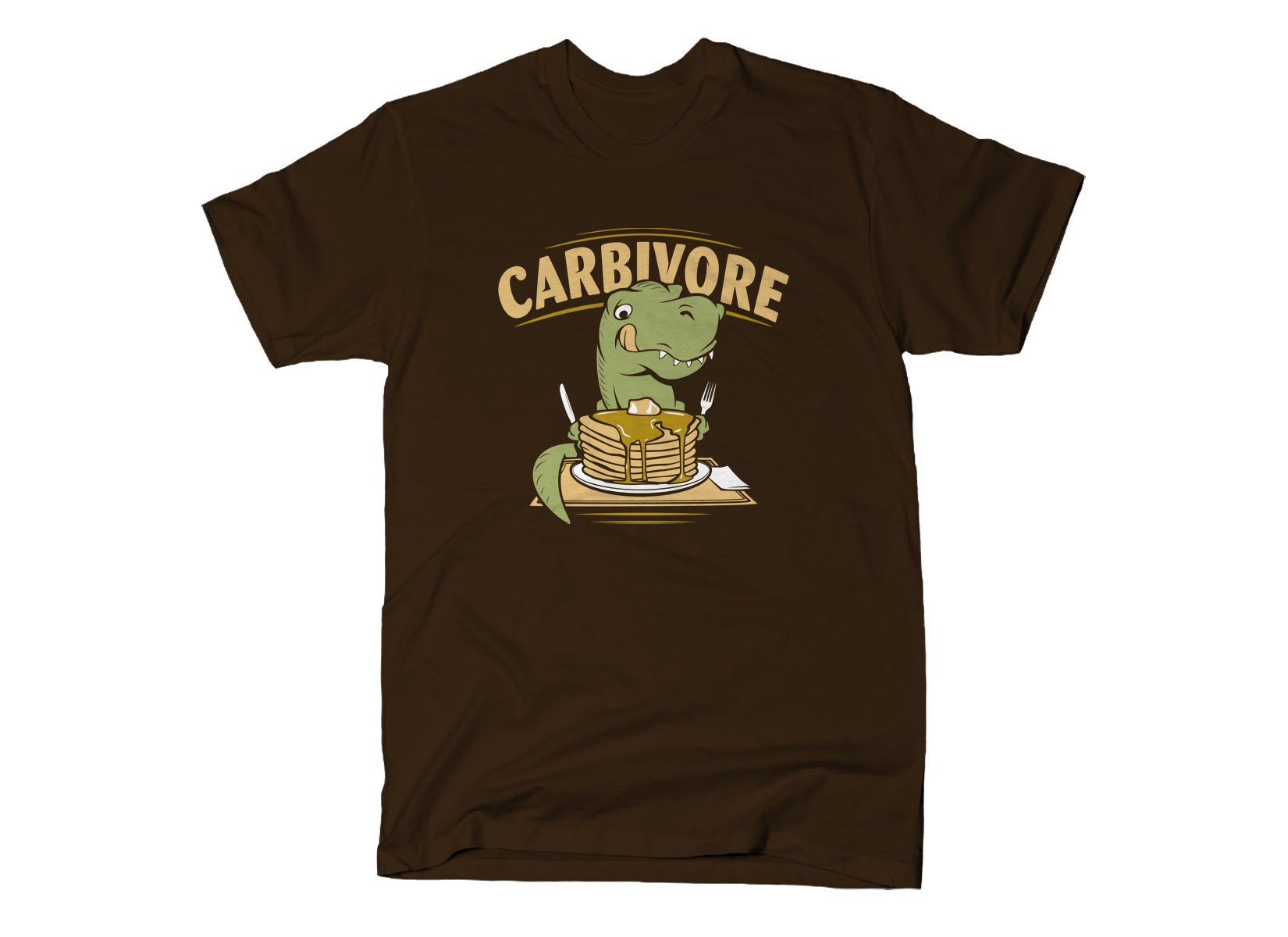Carbivore on Mens T-Shirt