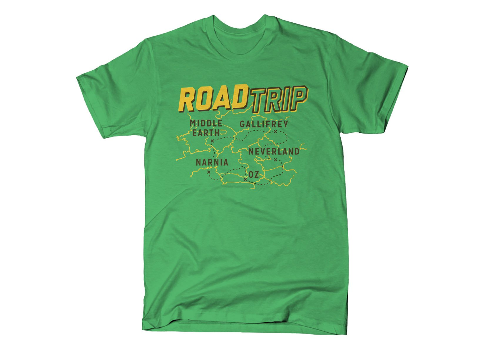 Road Trip on Mens T-Shirt