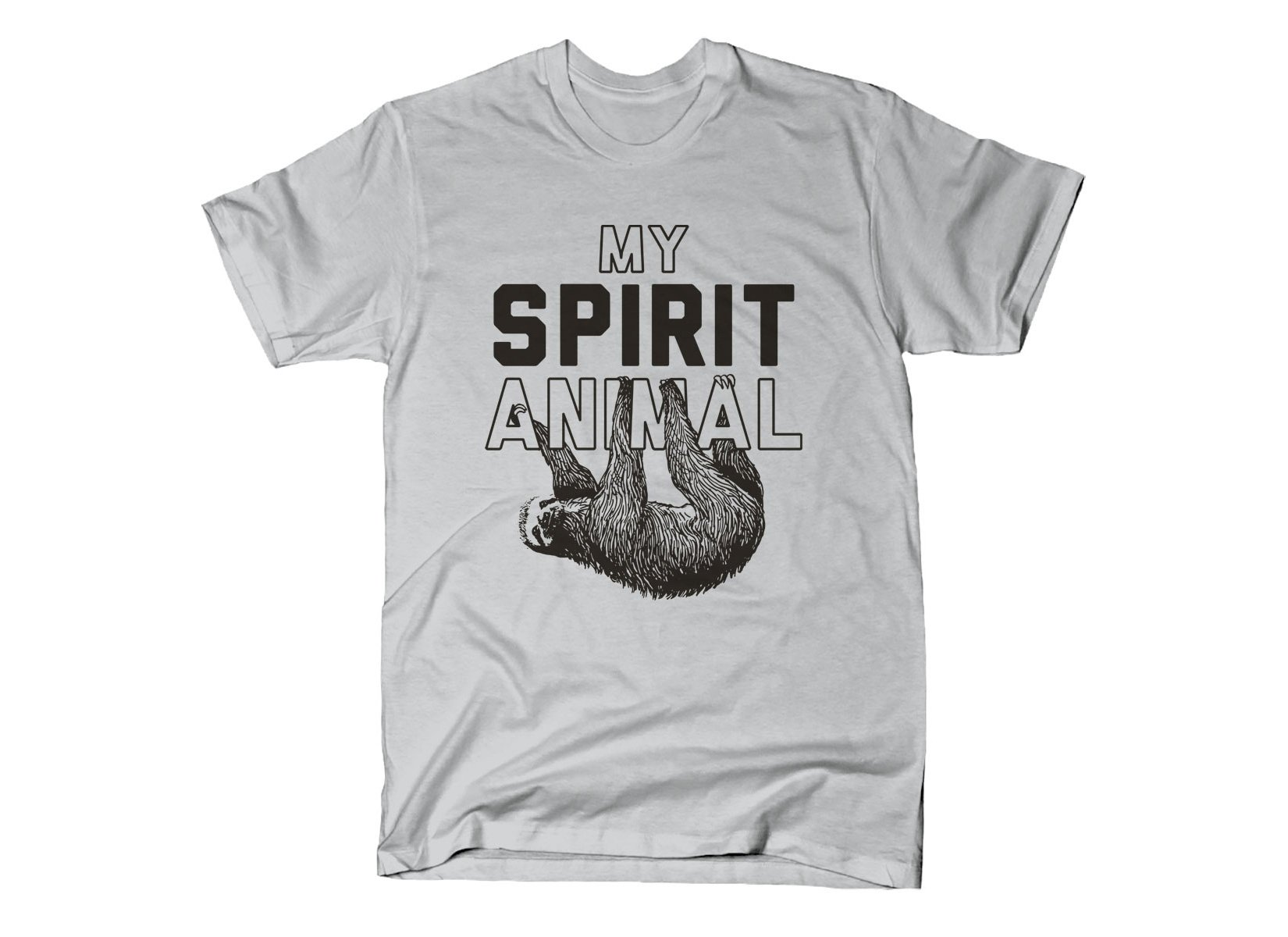 My Spirit Animal on Mens T-Shirt