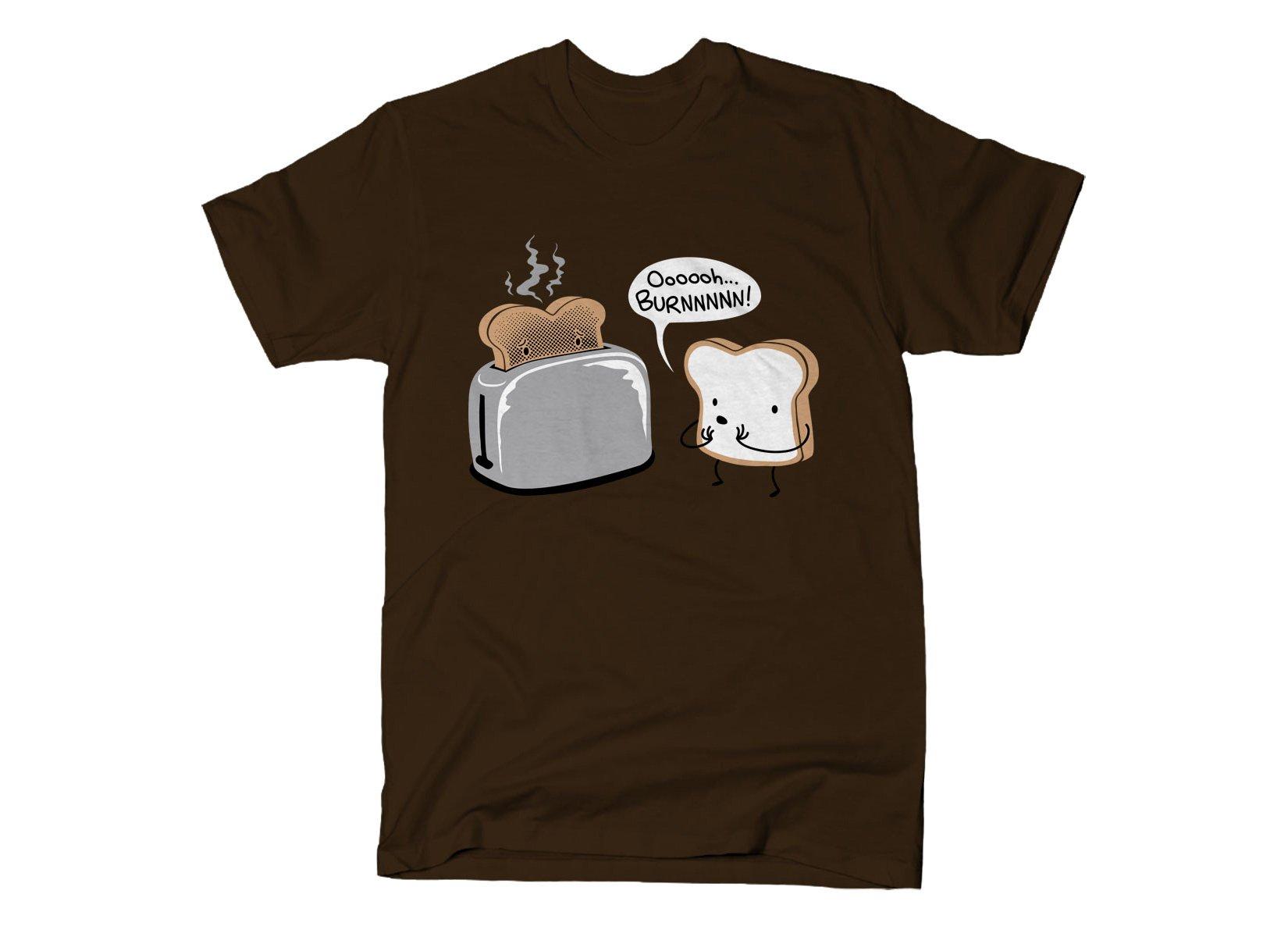 Oooooh...BURNNNNN! on Mens T-Shirt