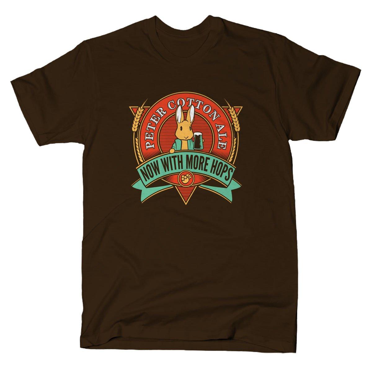 Peter Cotton Ale on Mens T-Shirt