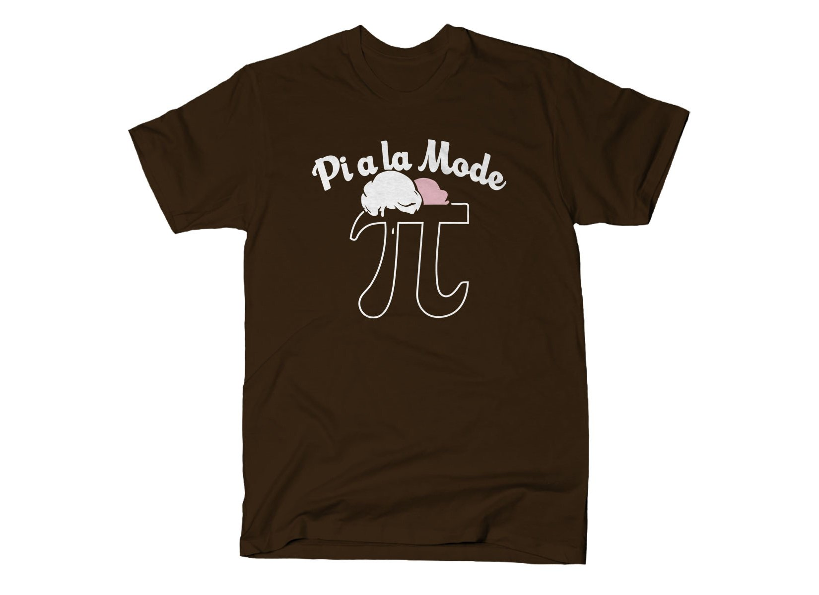 Pi a la Mode on Mens T-Shirt