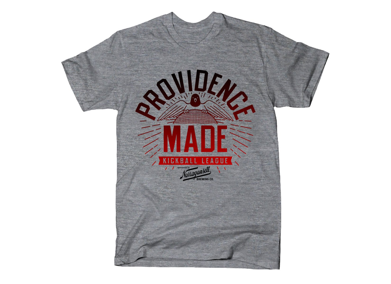 Providence Made on Mens T-Shirt