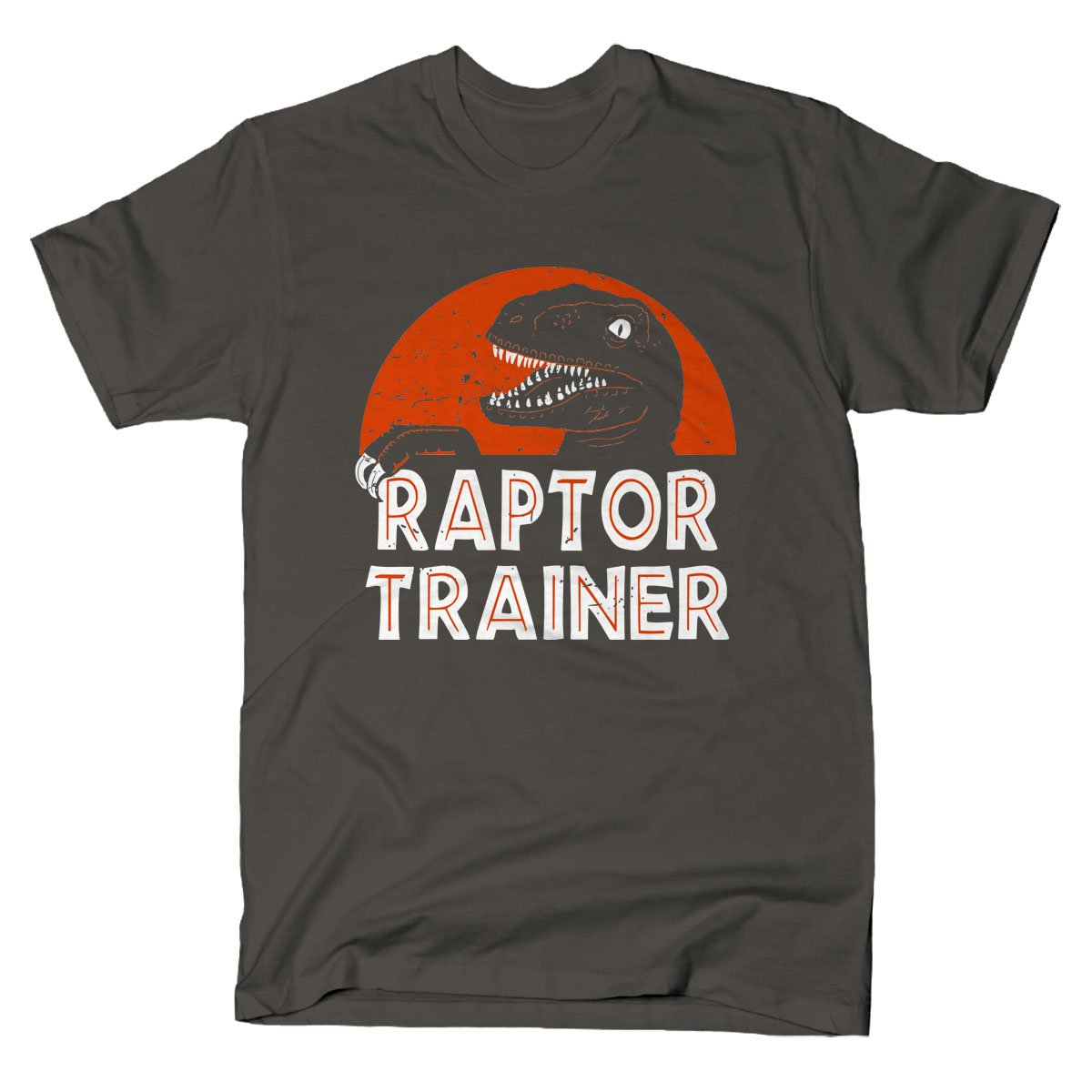 Raptor Trainer on Mens T-Shirt