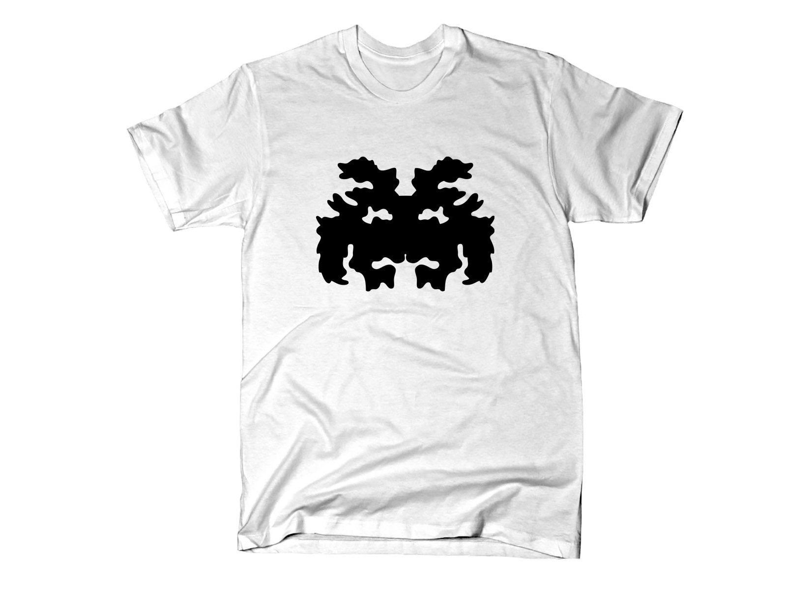 Rorschach Invader on Mens T-Shirt