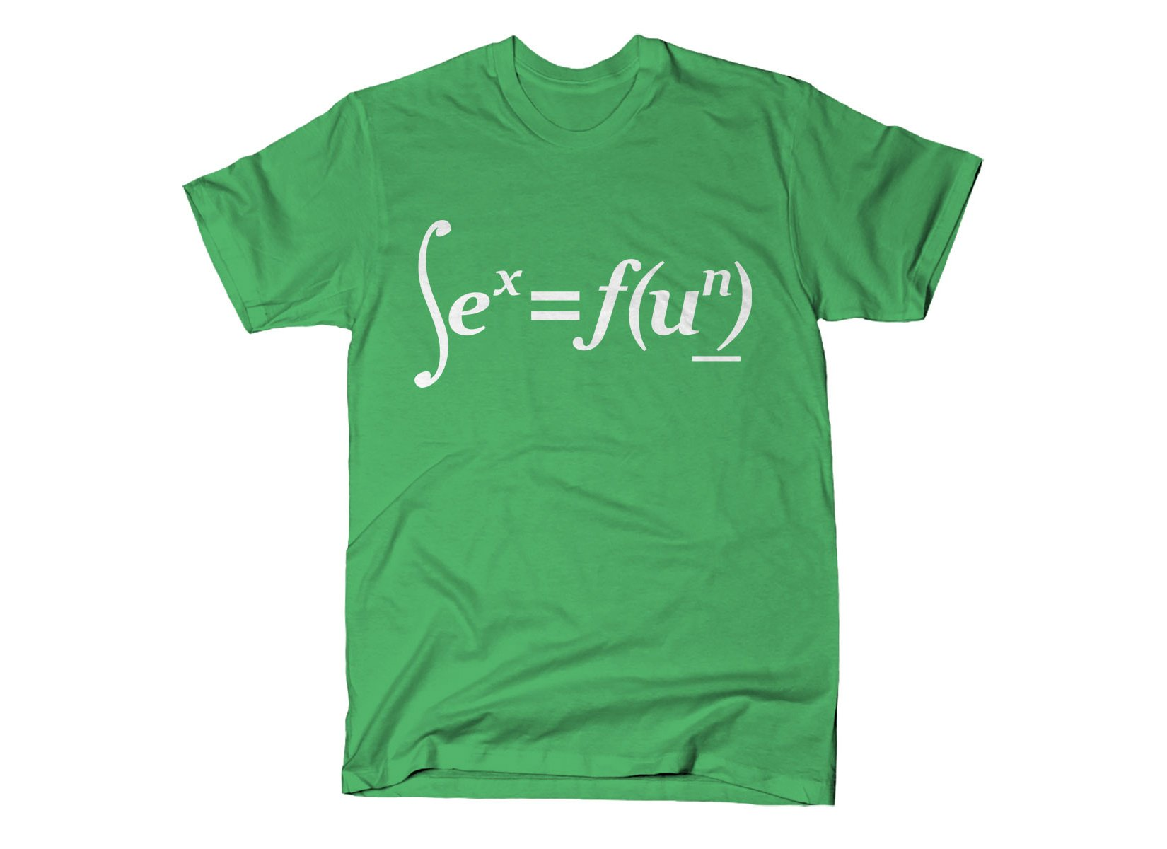 Sex Equation on Mens T-Shirt