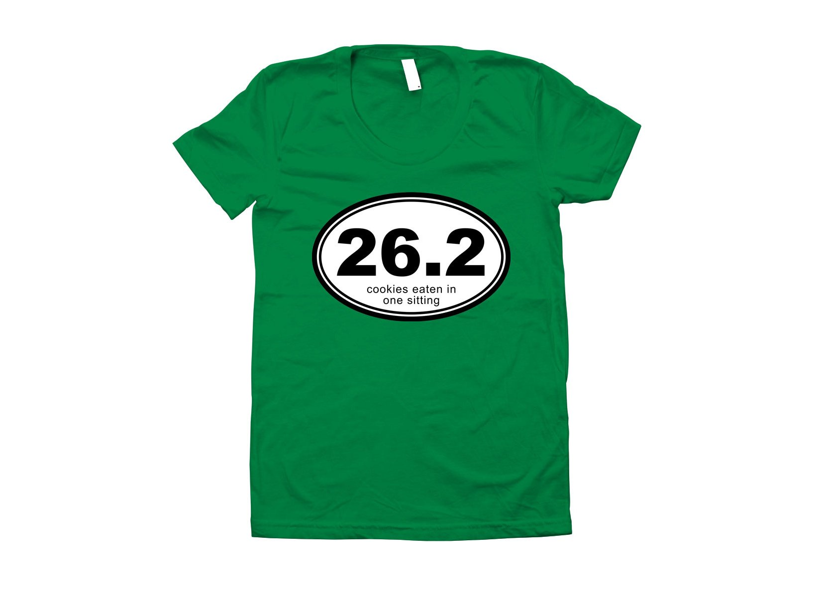 26.2 Cookies Eaten In One Sitting on Juniors T-Shirt