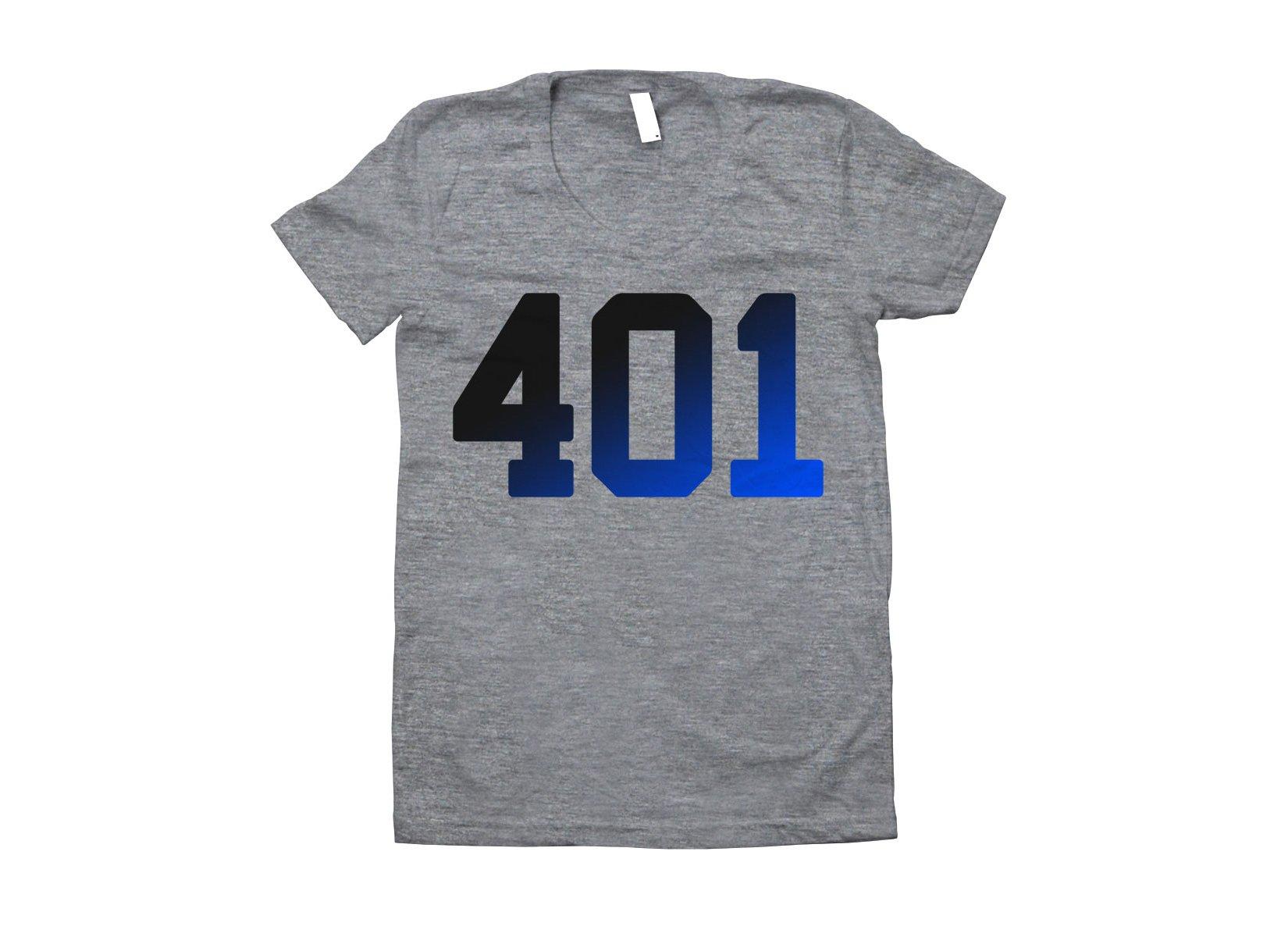 401 Rhode Island on Juniors T-Shirt