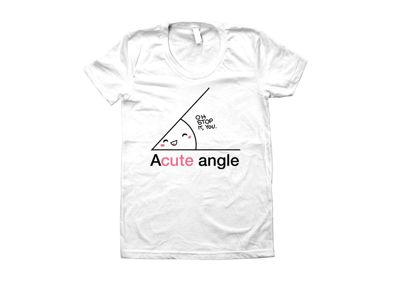 Acute Angle on Juniors T-Shirt