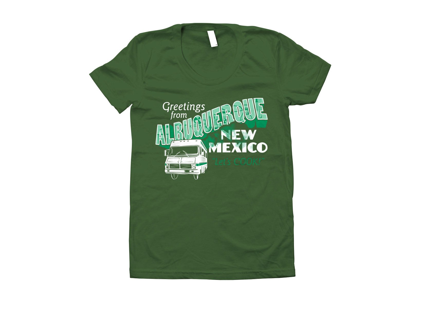 Greetings From Albuquerque on Juniors T-Shirt