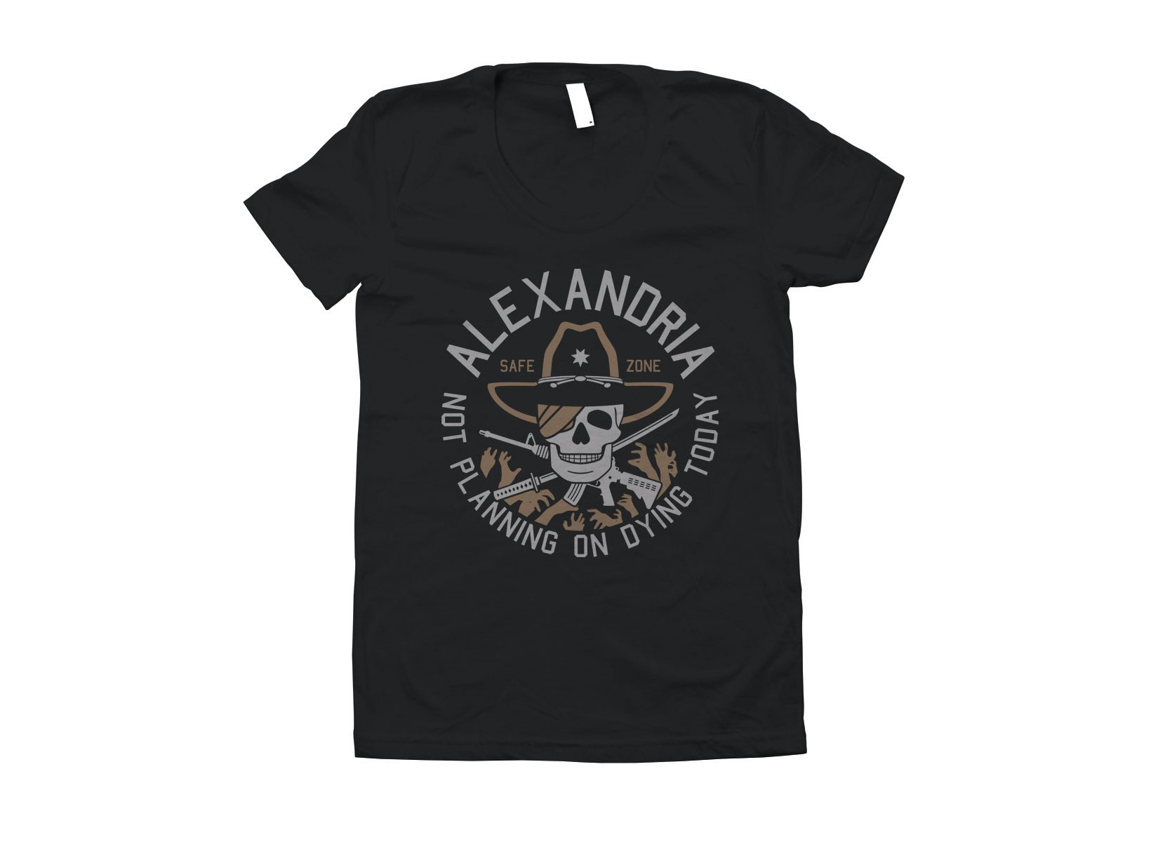 Alexandria Safe Zone on Juniors T-Shirt