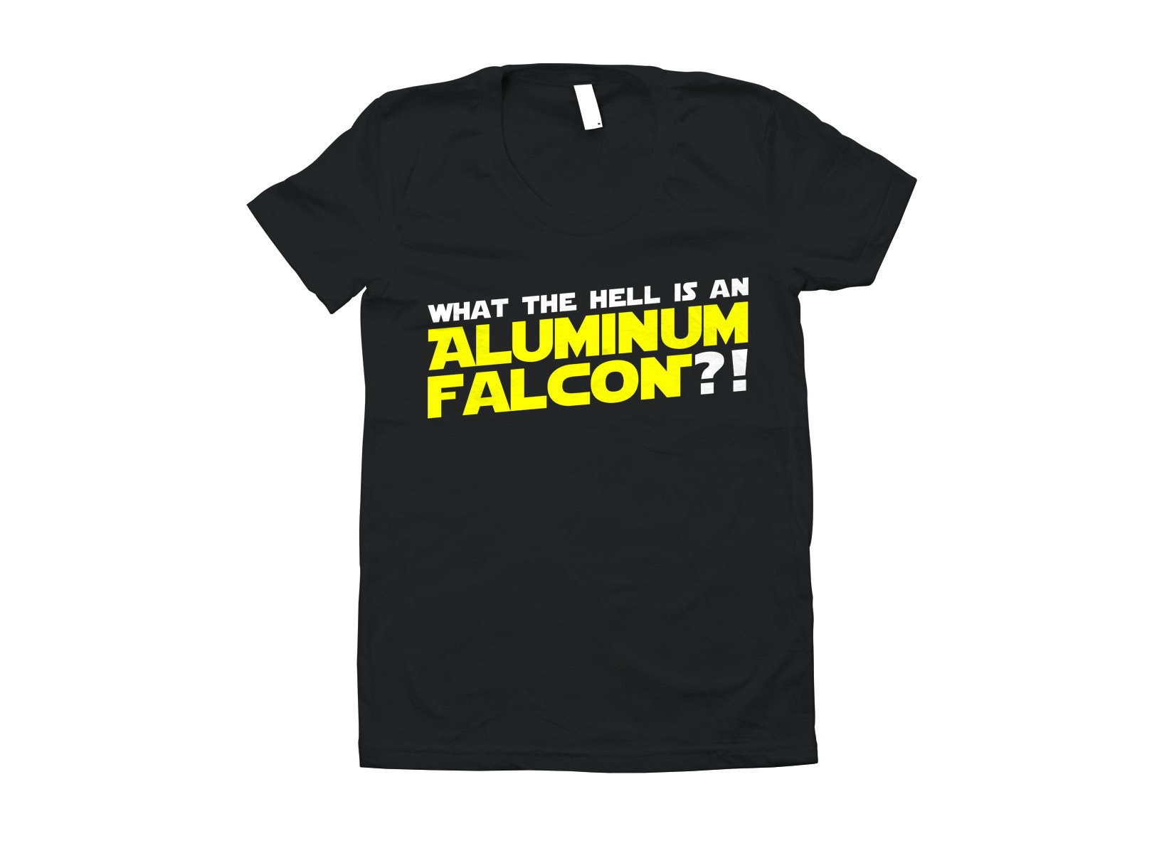 Aluminum Falcon on Juniors T-Shirt
