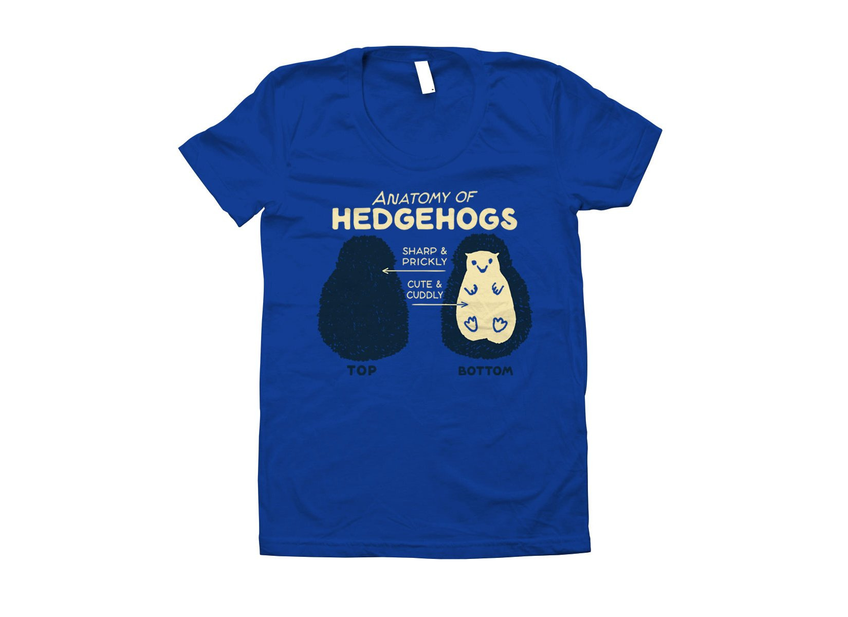 Anatomy Of Hedgehogs on Juniors T-Shirt