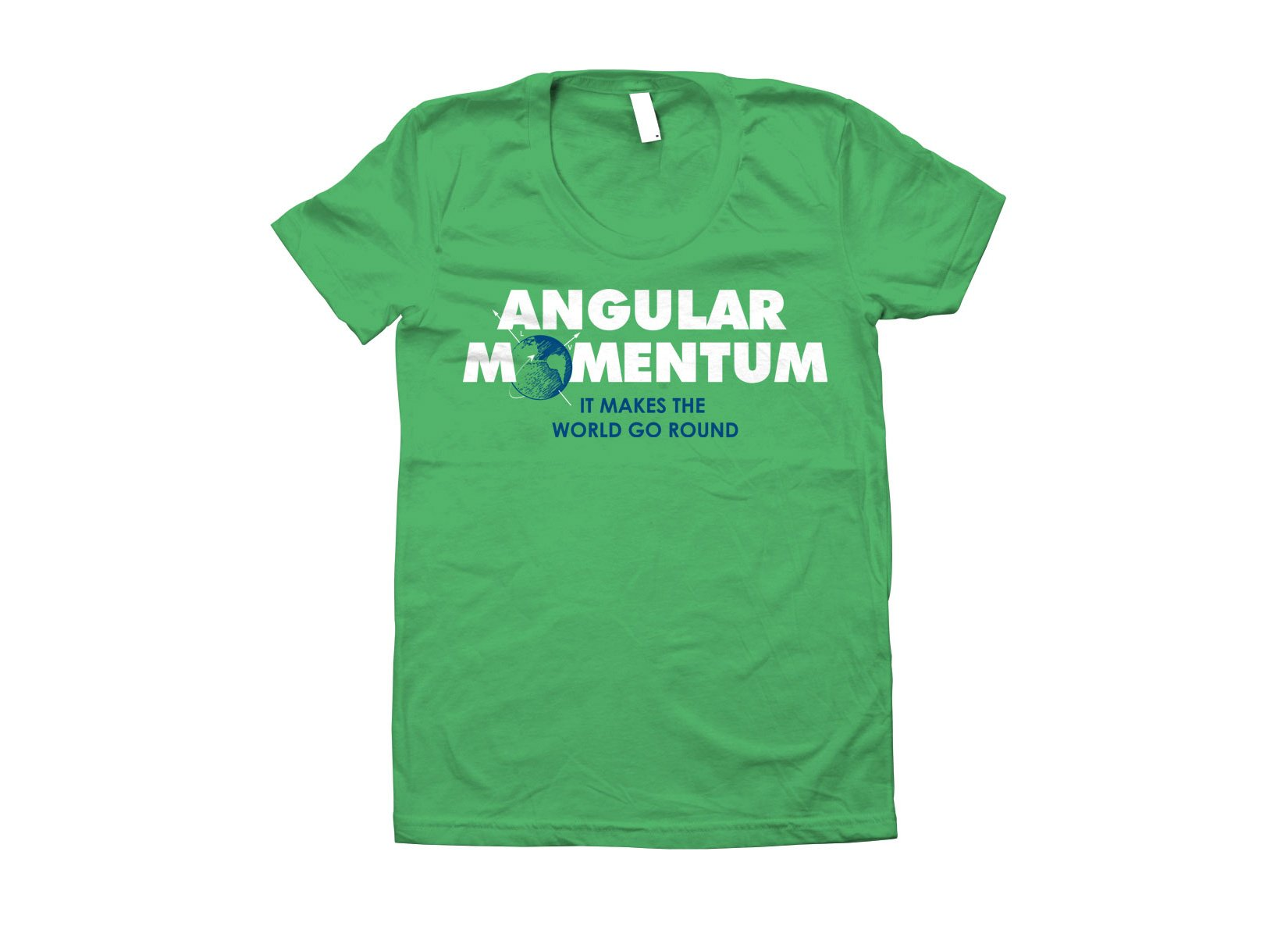 Angular Momentum on Juniors T-Shirt