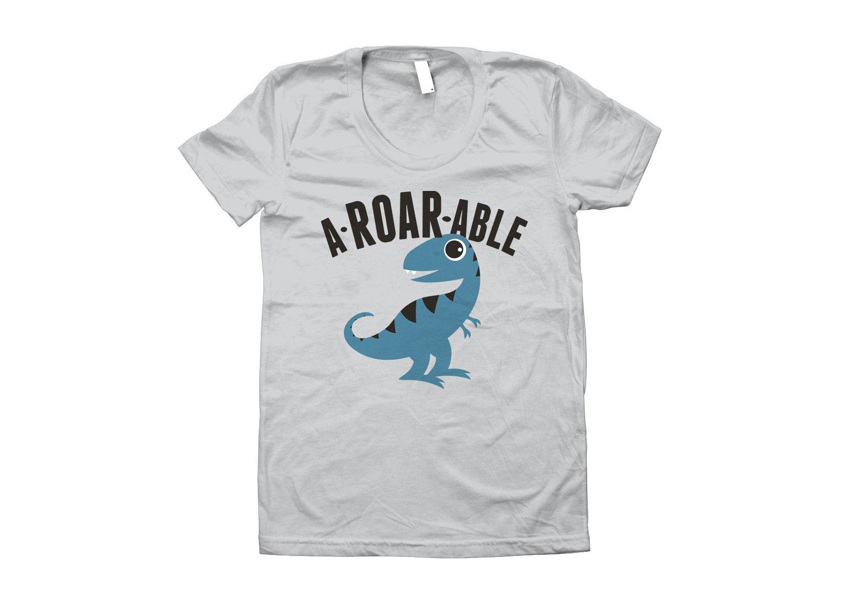 A-Roar-Able on Juniors T-Shirt