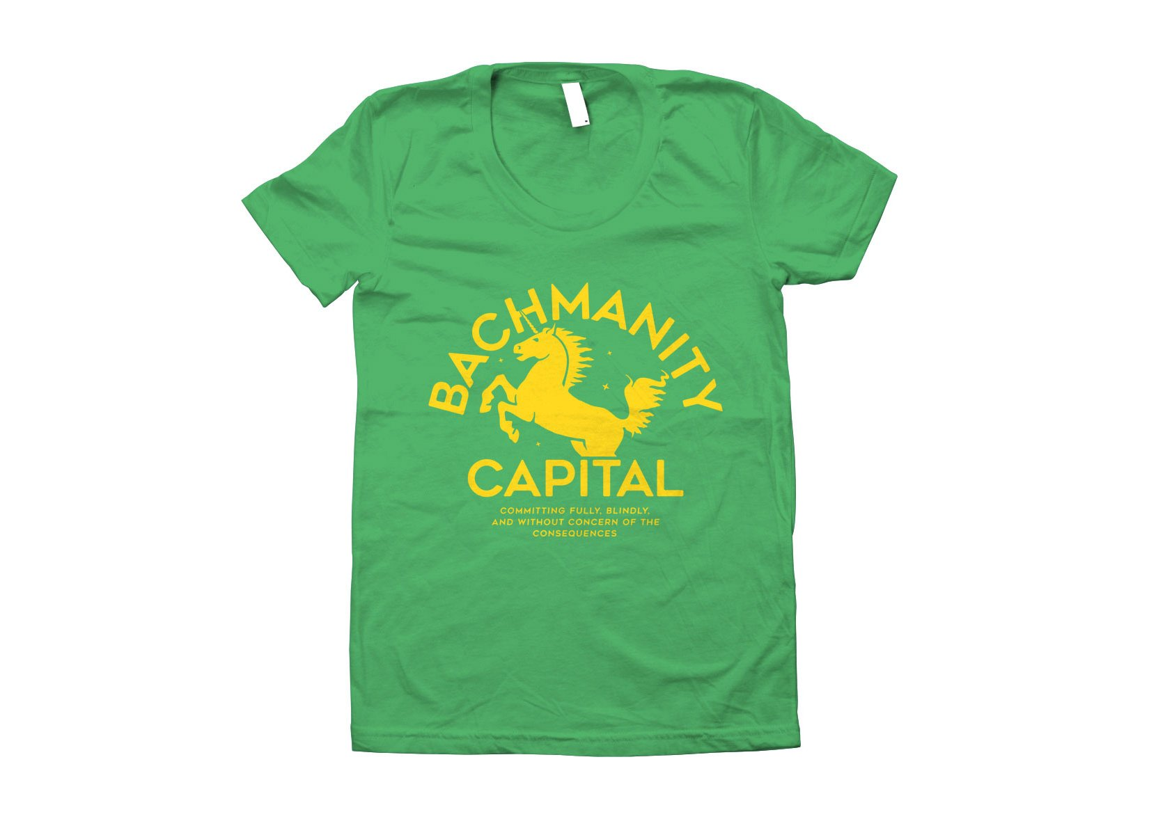 Bachmanity Capital on Juniors T-Shirt