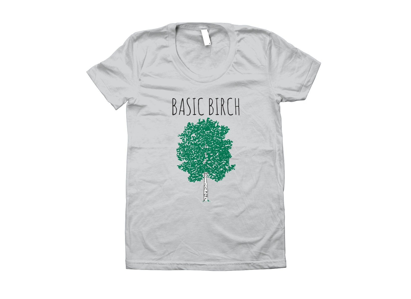 Basic Birch on Juniors T-Shirt
