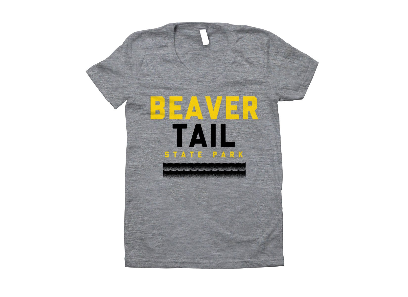 Beaver Tail on Juniors T-Shirt