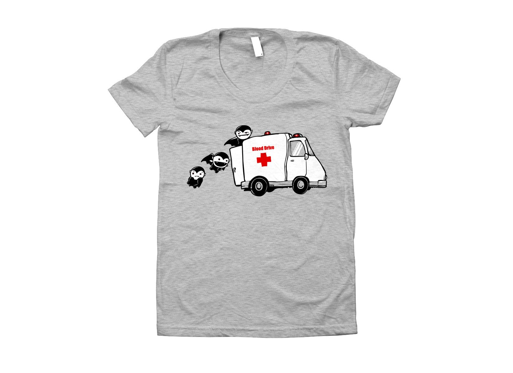 Blood Drive Vampires on Juniors T-Shirt