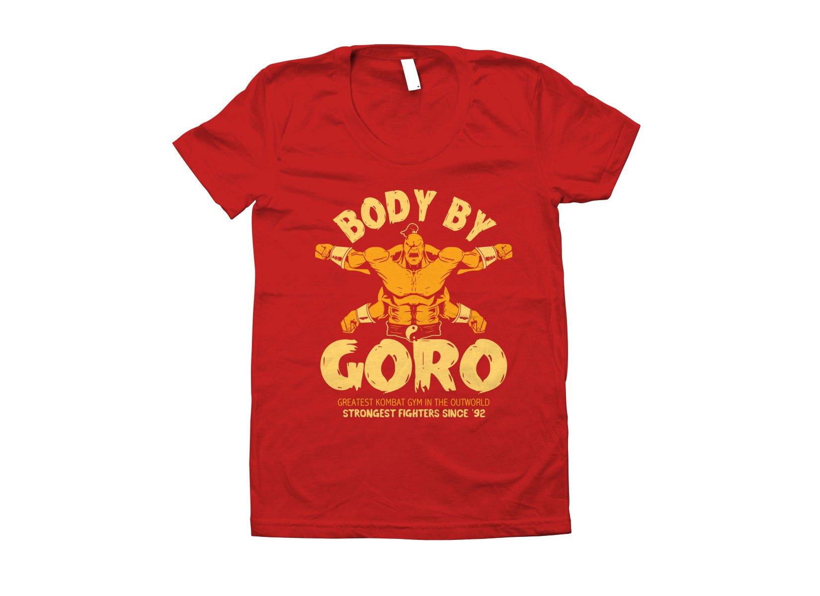 Body By Goro on Juniors T-Shirt
