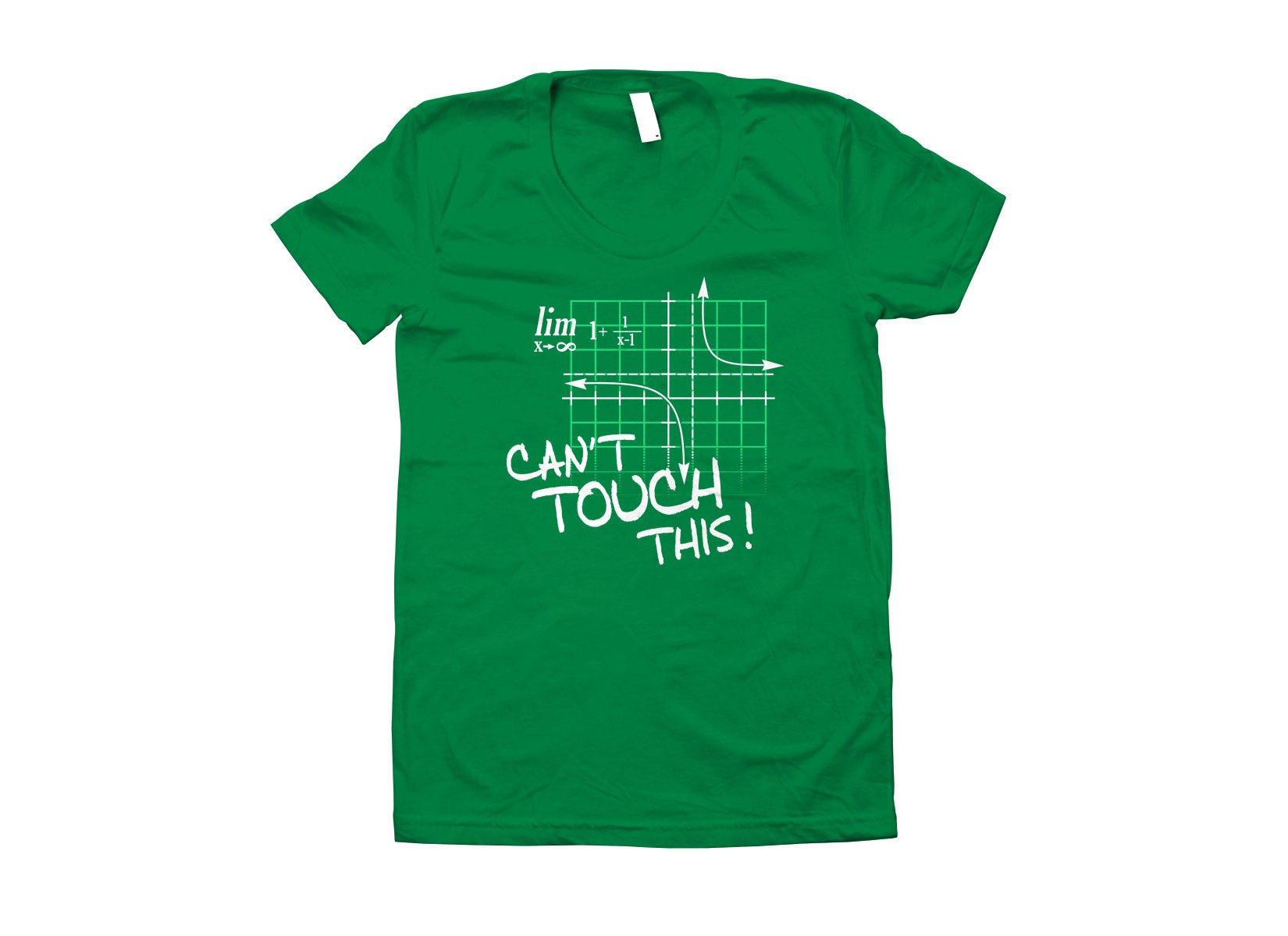 Can't Touch This Equation on Juniors T-Shirt