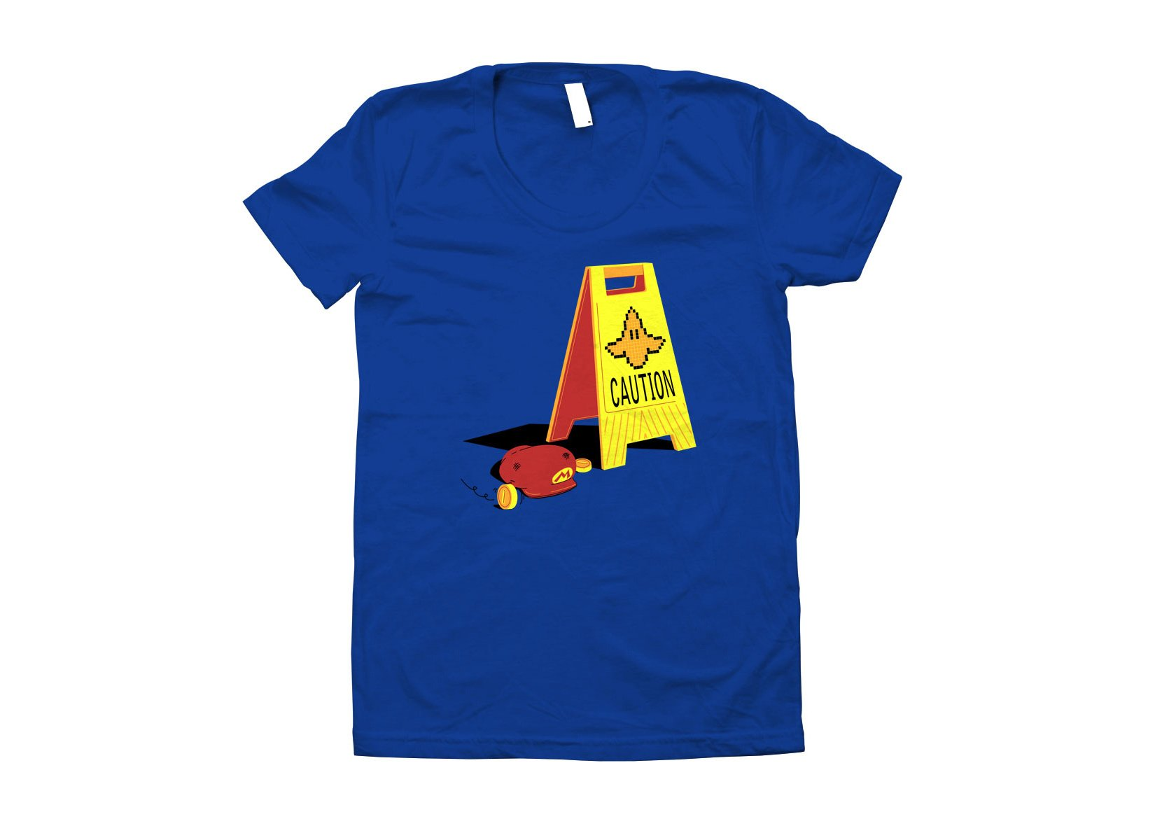 Caution Banana on Juniors T-Shirt