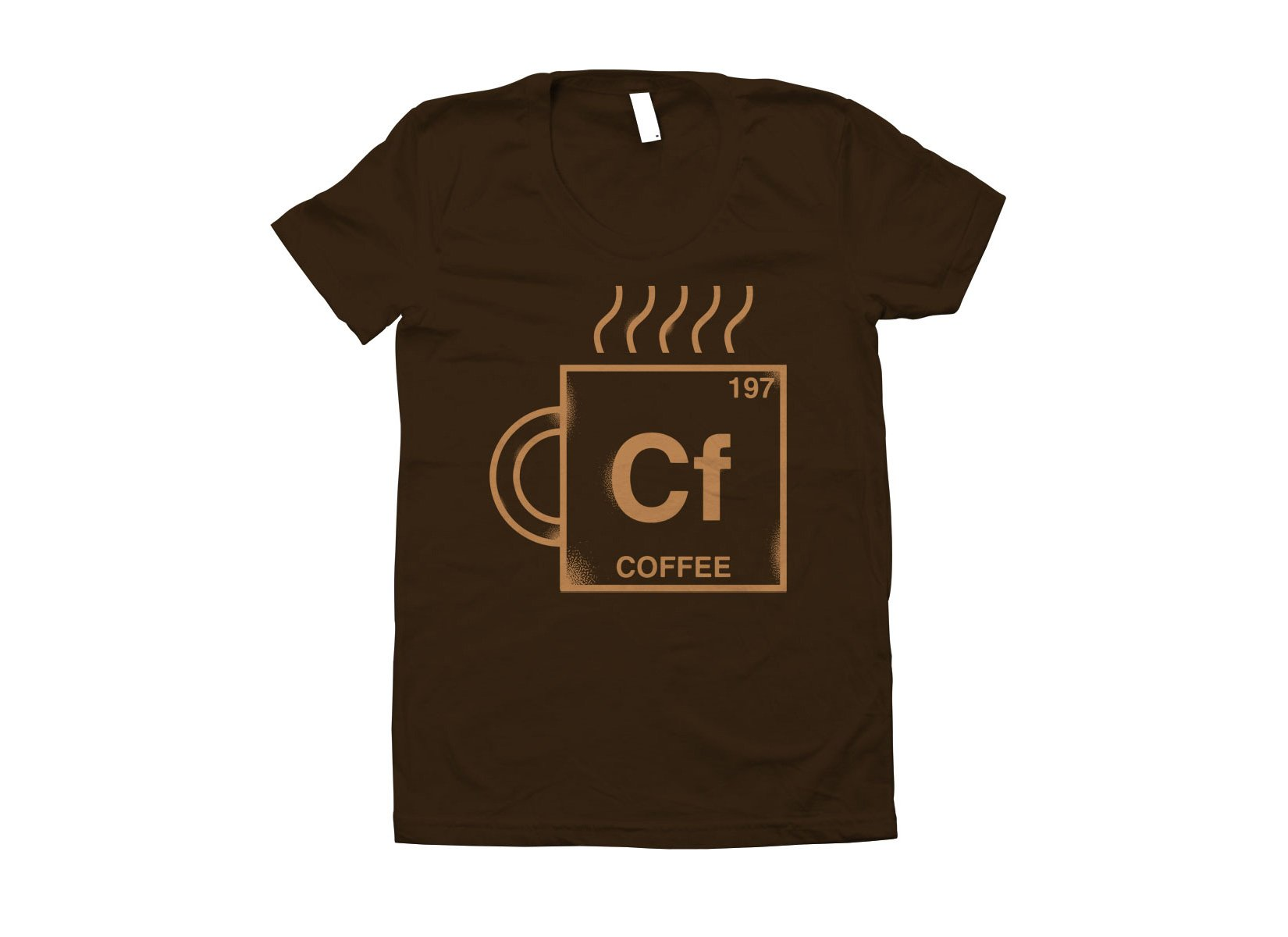Coffee Element on Juniors T-Shirt