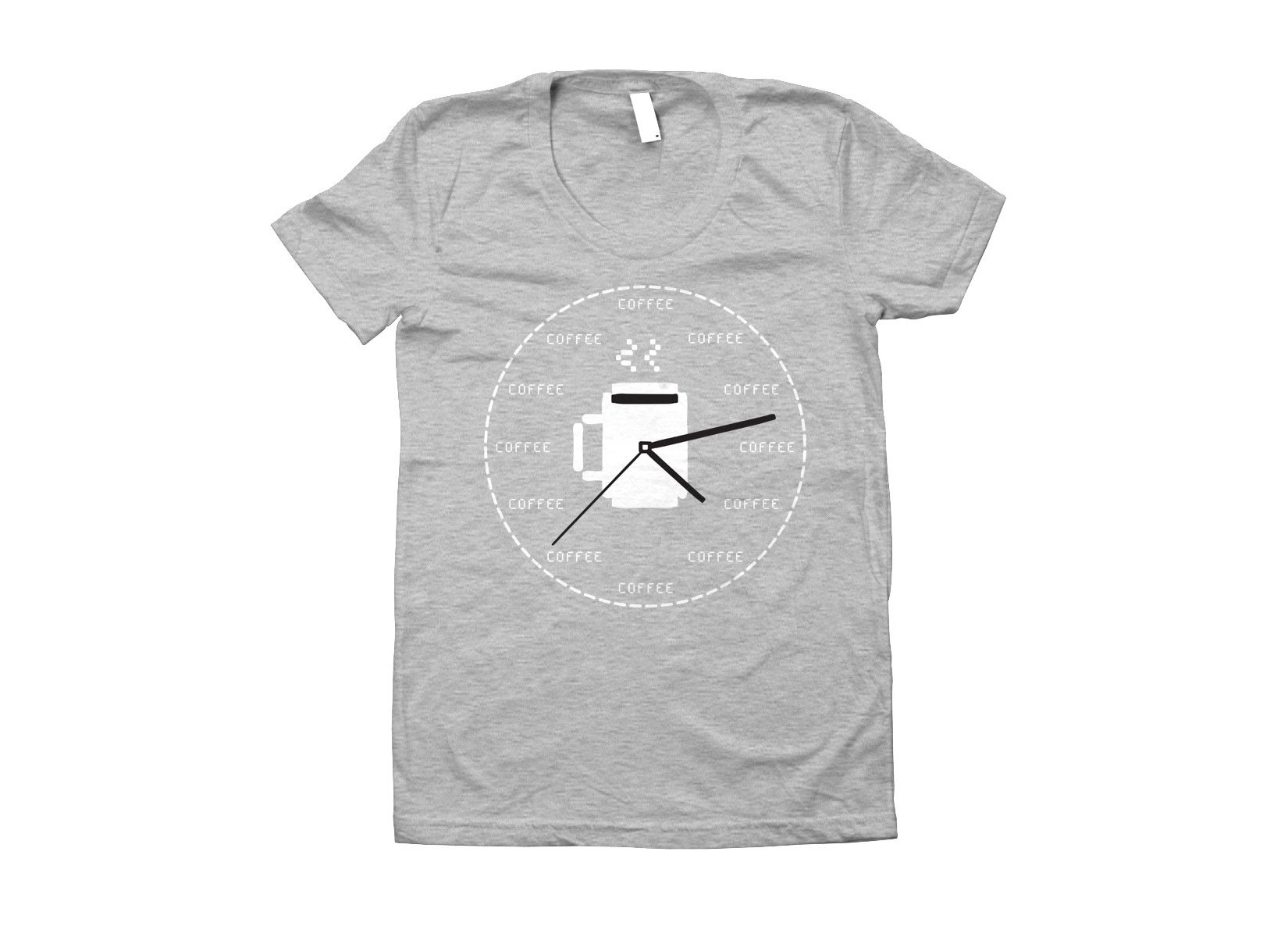 Coffee O'Clock on Juniors T-Shirt