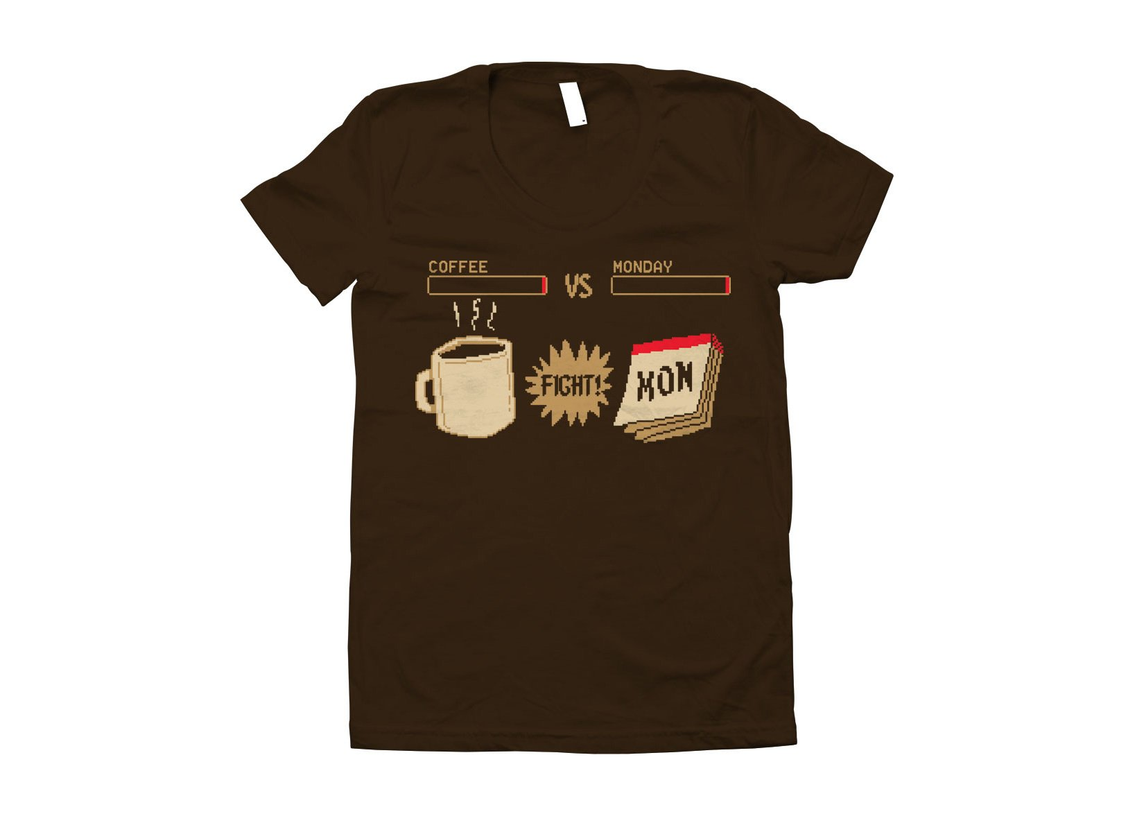 Coffee vs Monday on Juniors T-Shirt