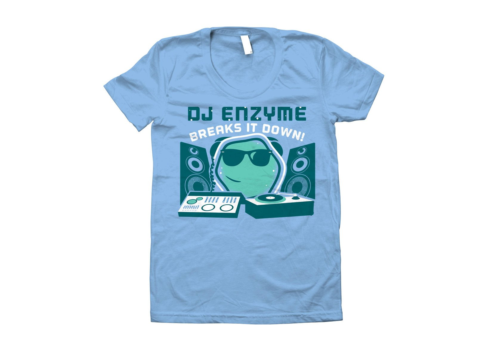 DJ Enzyme on Juniors T-Shirt