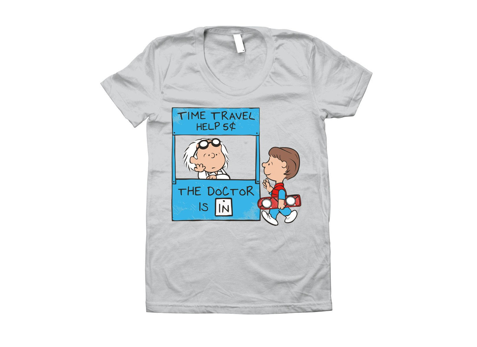 The Doctor Is In on Juniors T-Shirt