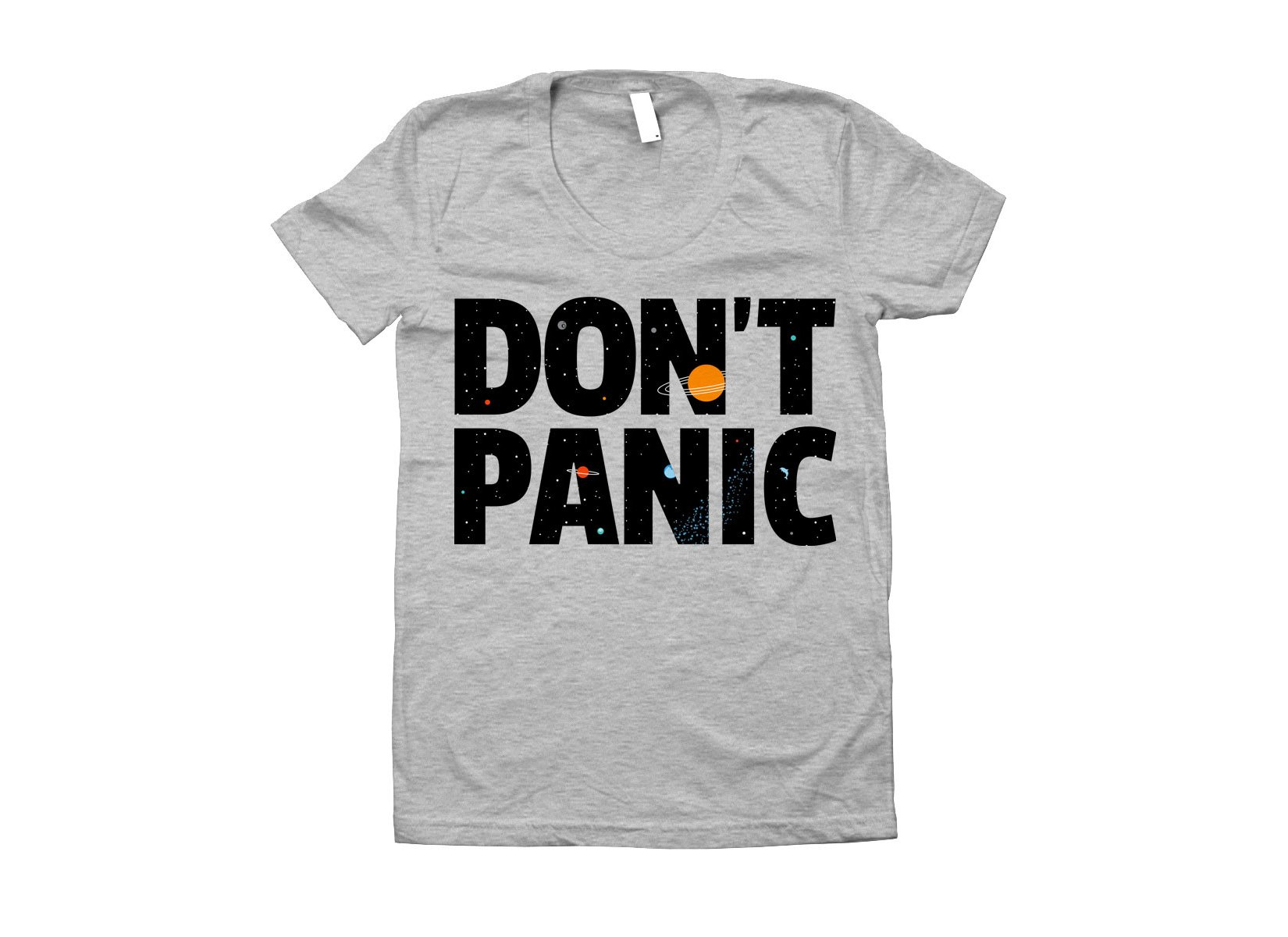 Don't Panic on Juniors T-Shirt
