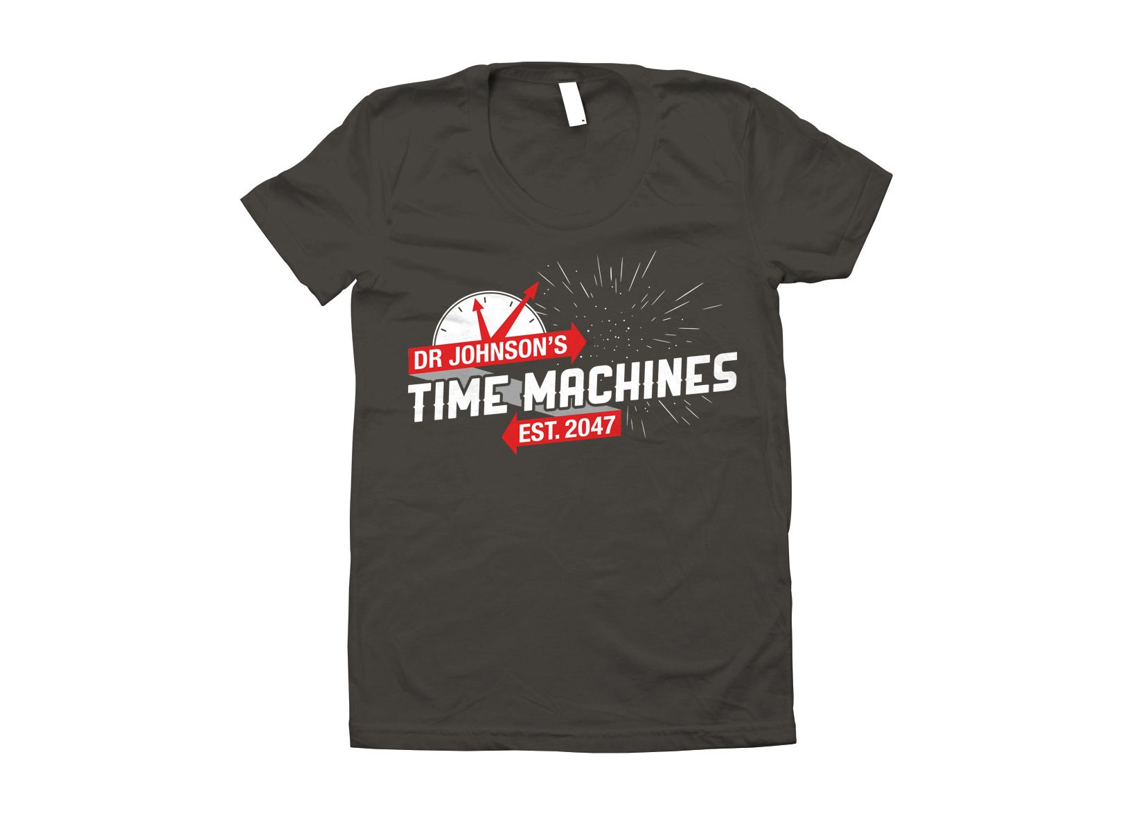 Dr Johnson's Time Machines on Juniors T-Shirt