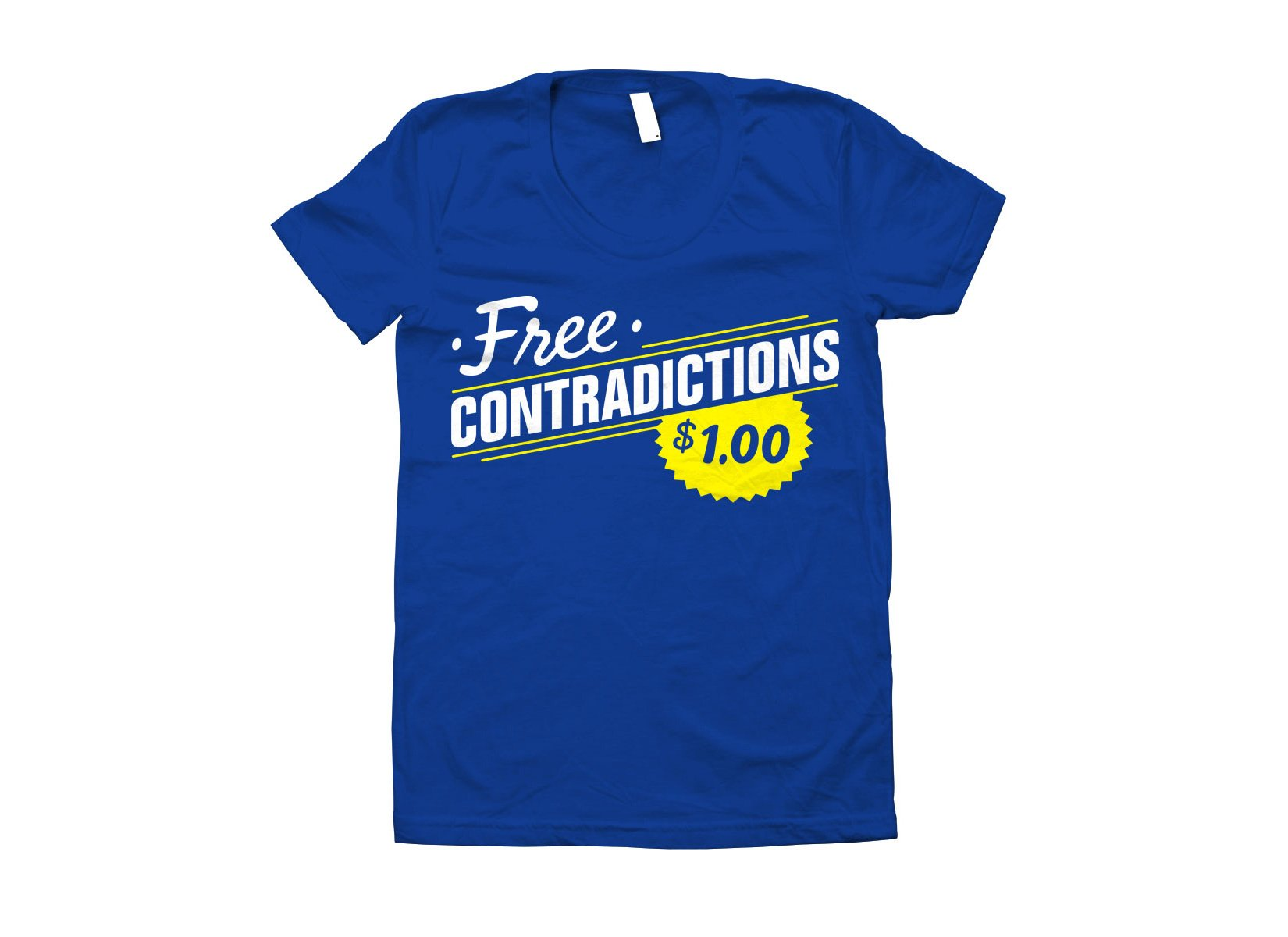 Free Contradictions on Juniors T-Shirt