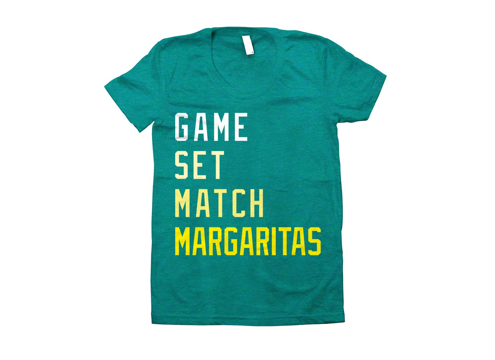 Game, Set, Match, Margarita on Juniors T-Shirt