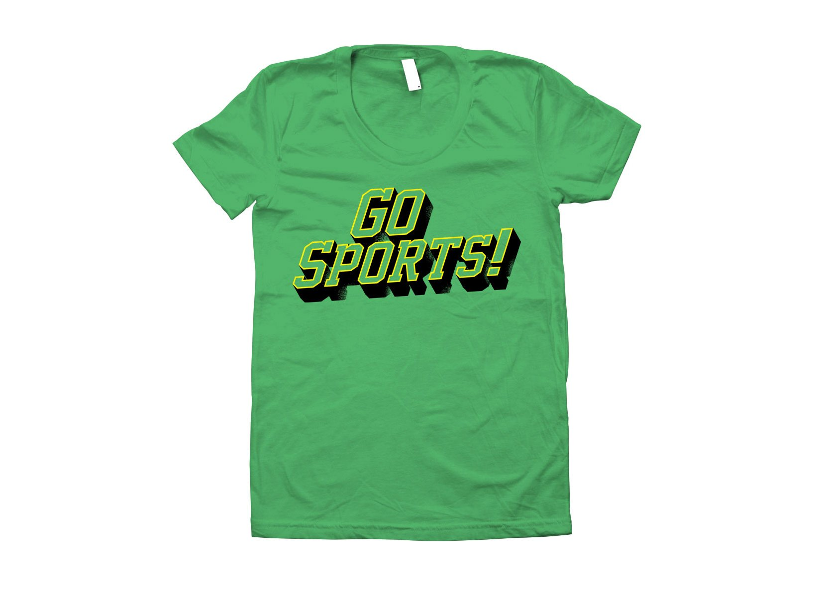 Go Sports! on Juniors T-Shirt