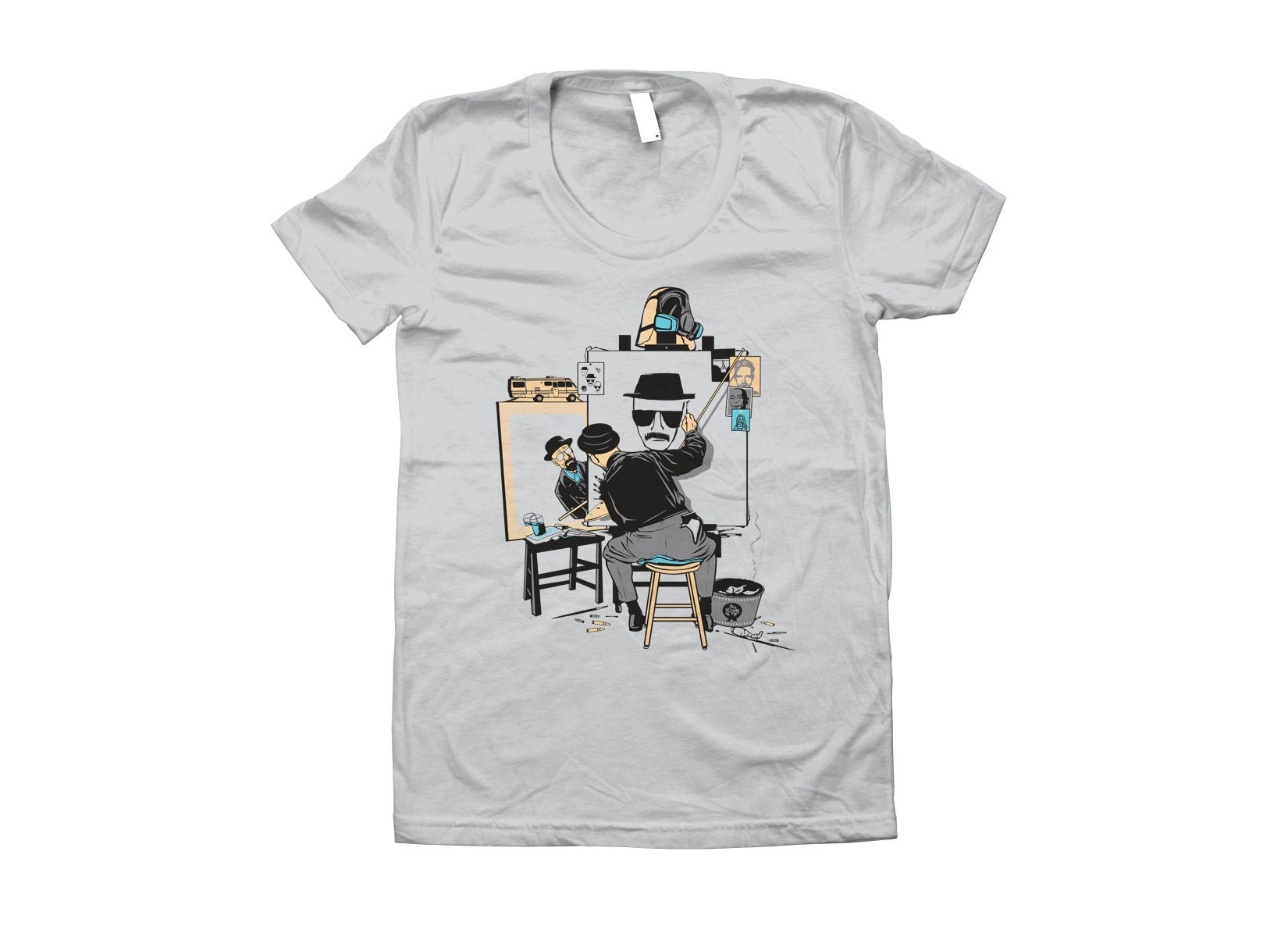 Heisenberg Self Portrait on Juniors T-Shirt