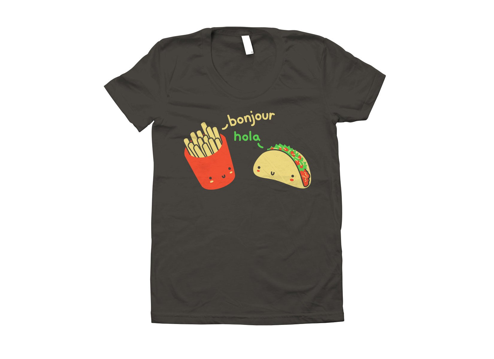 Hola Taco on Juniors T-Shirt