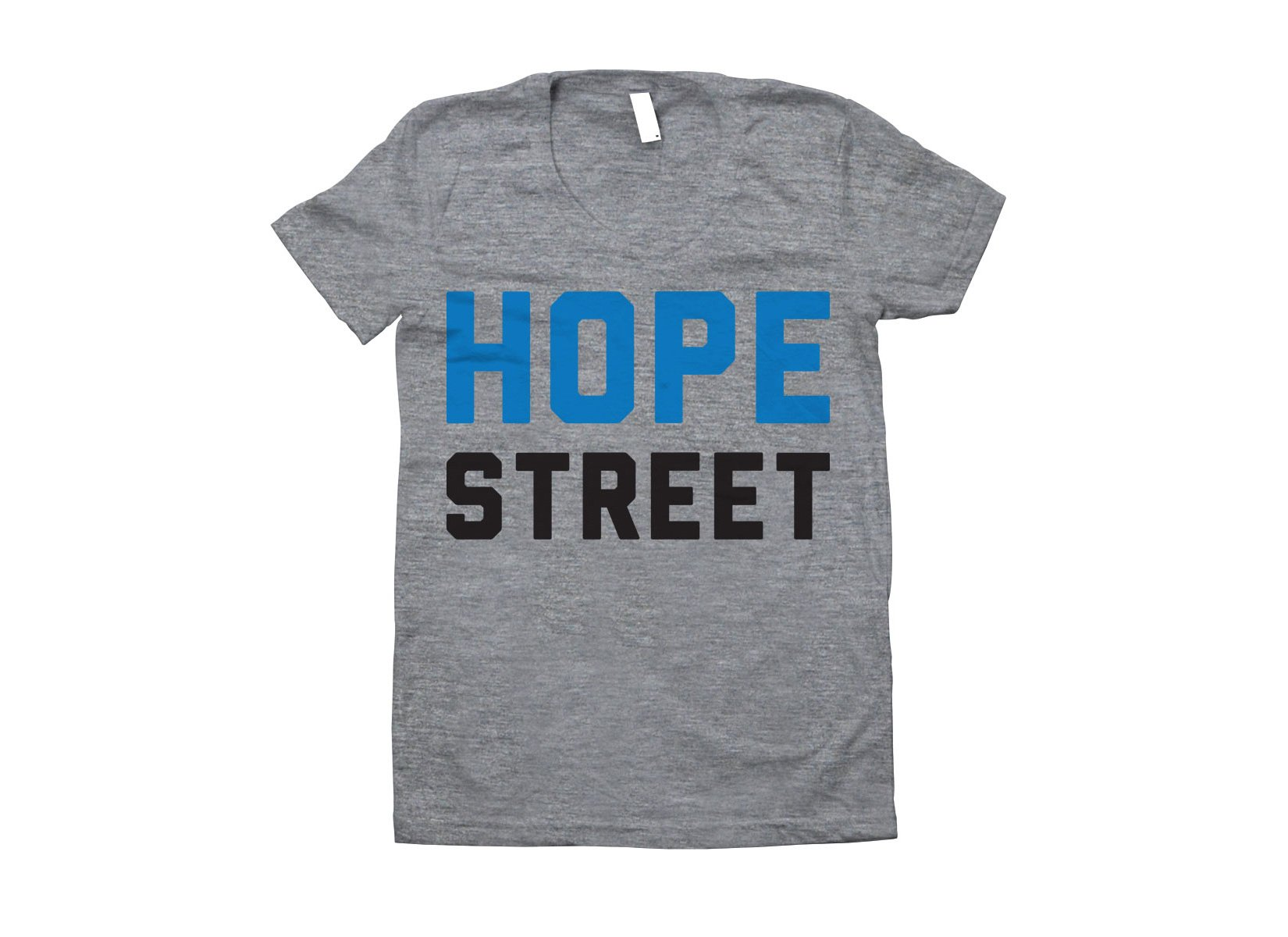 Hope Street on Juniors T-Shirt