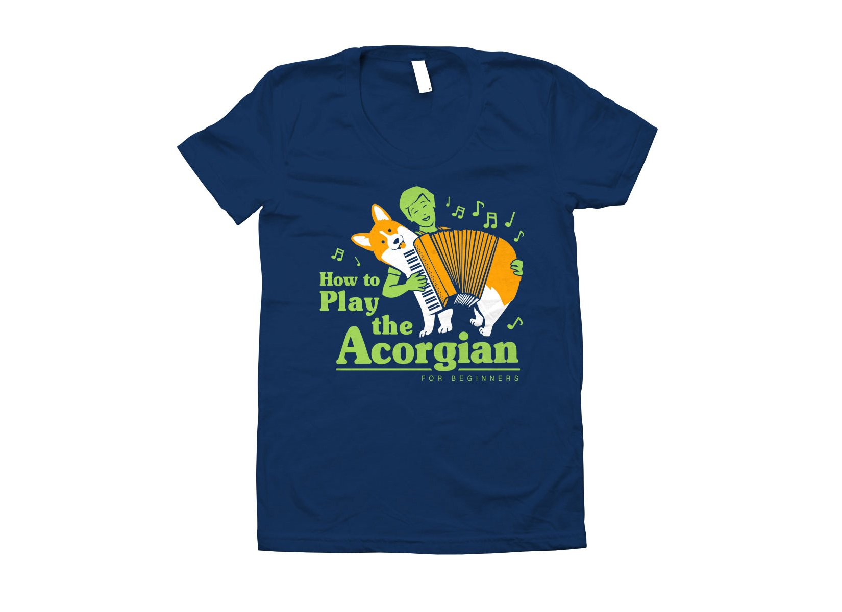 How To Play The Acorgian on Juniors T-Shirt