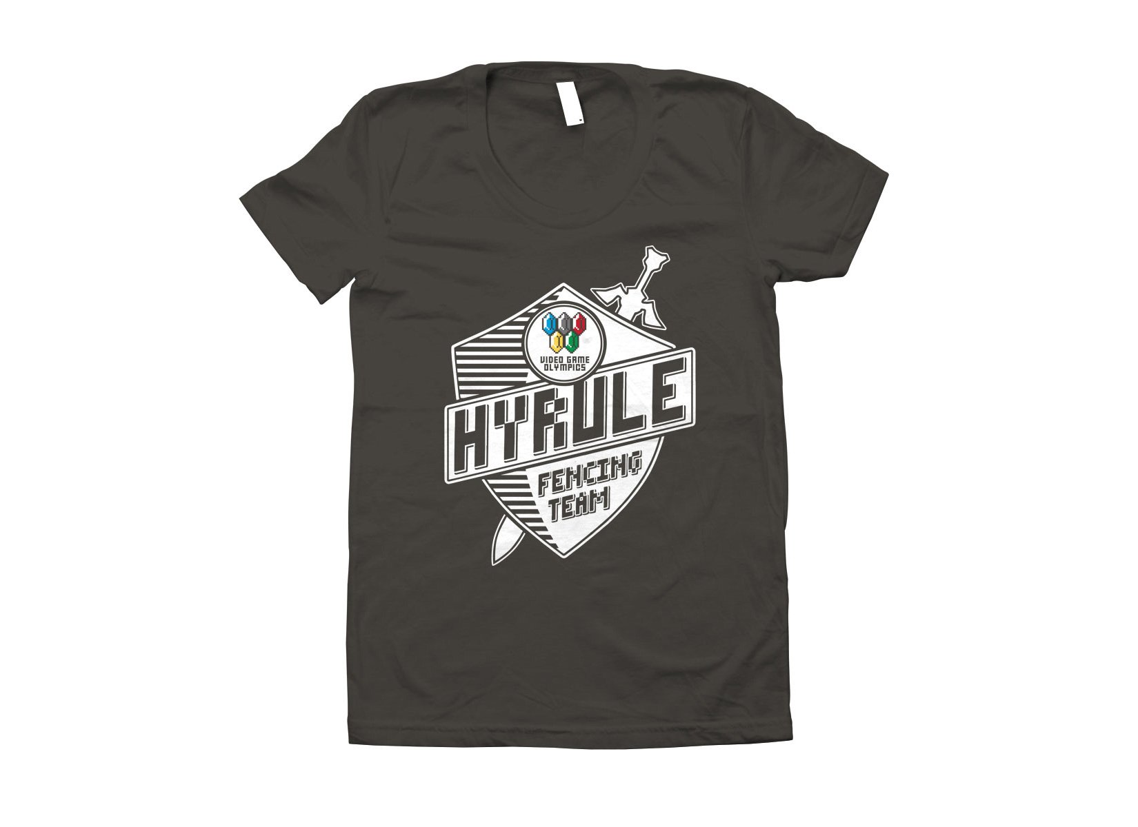 Hyrule Fencing Team on Juniors T-Shirt