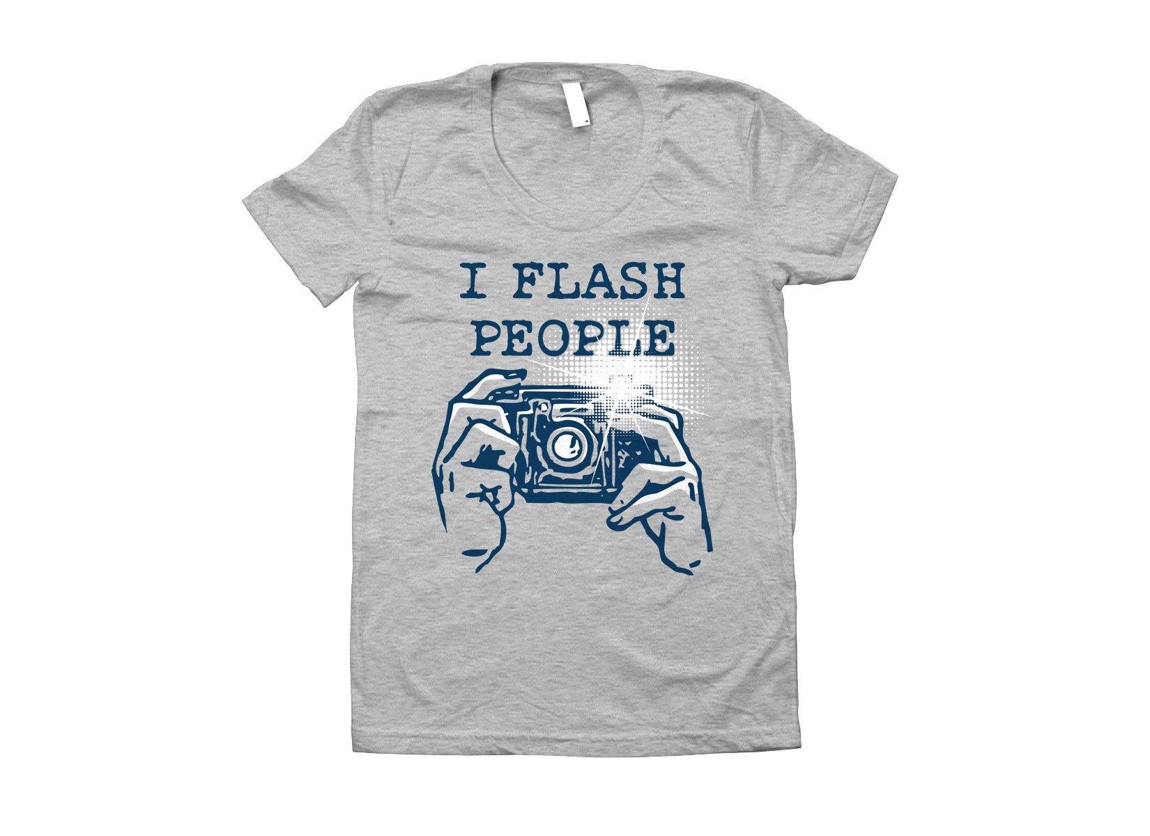 I Flash People on Juniors T-Shirt