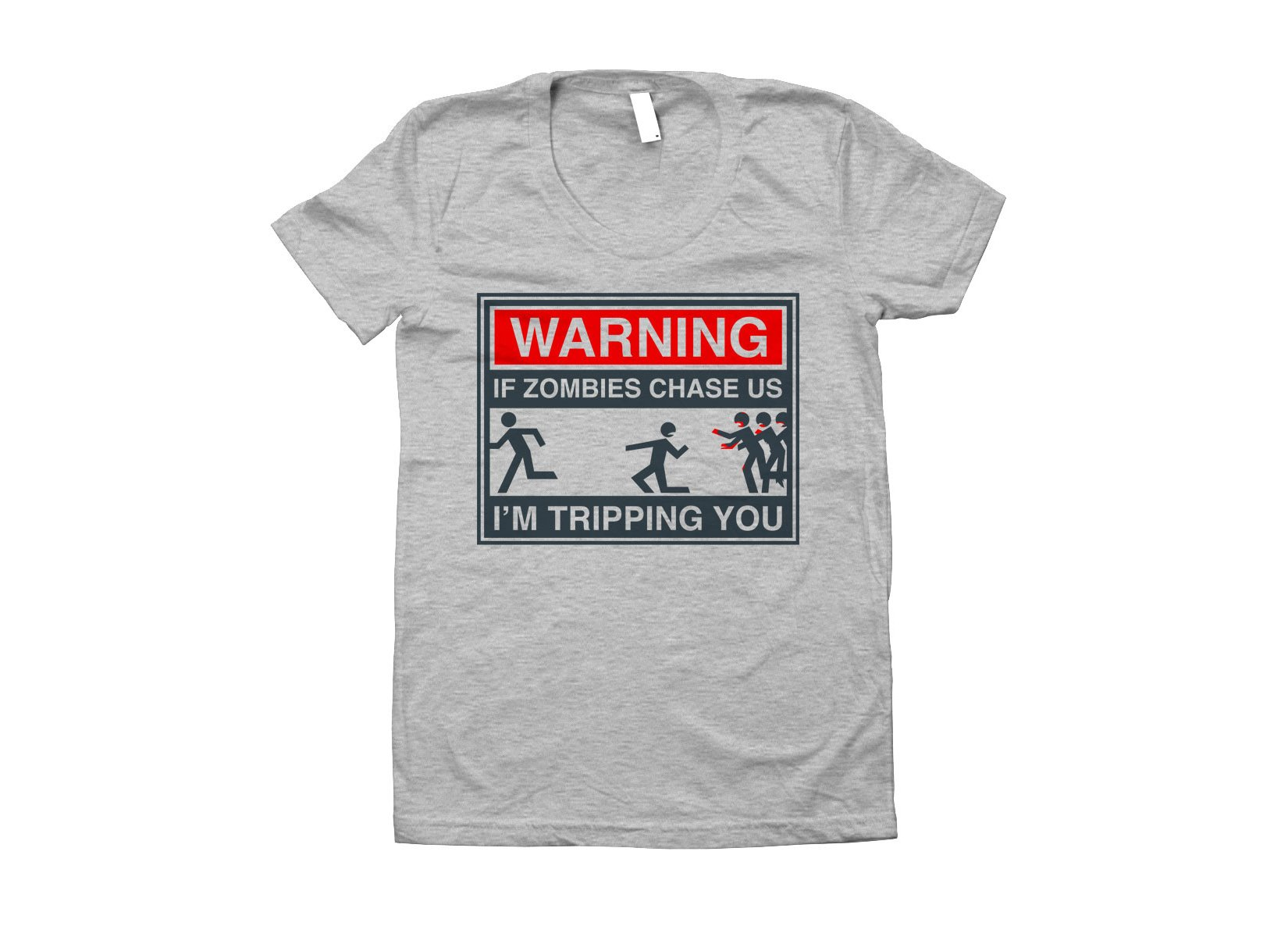 If Zombies Chase Us on Juniors T-Shirt